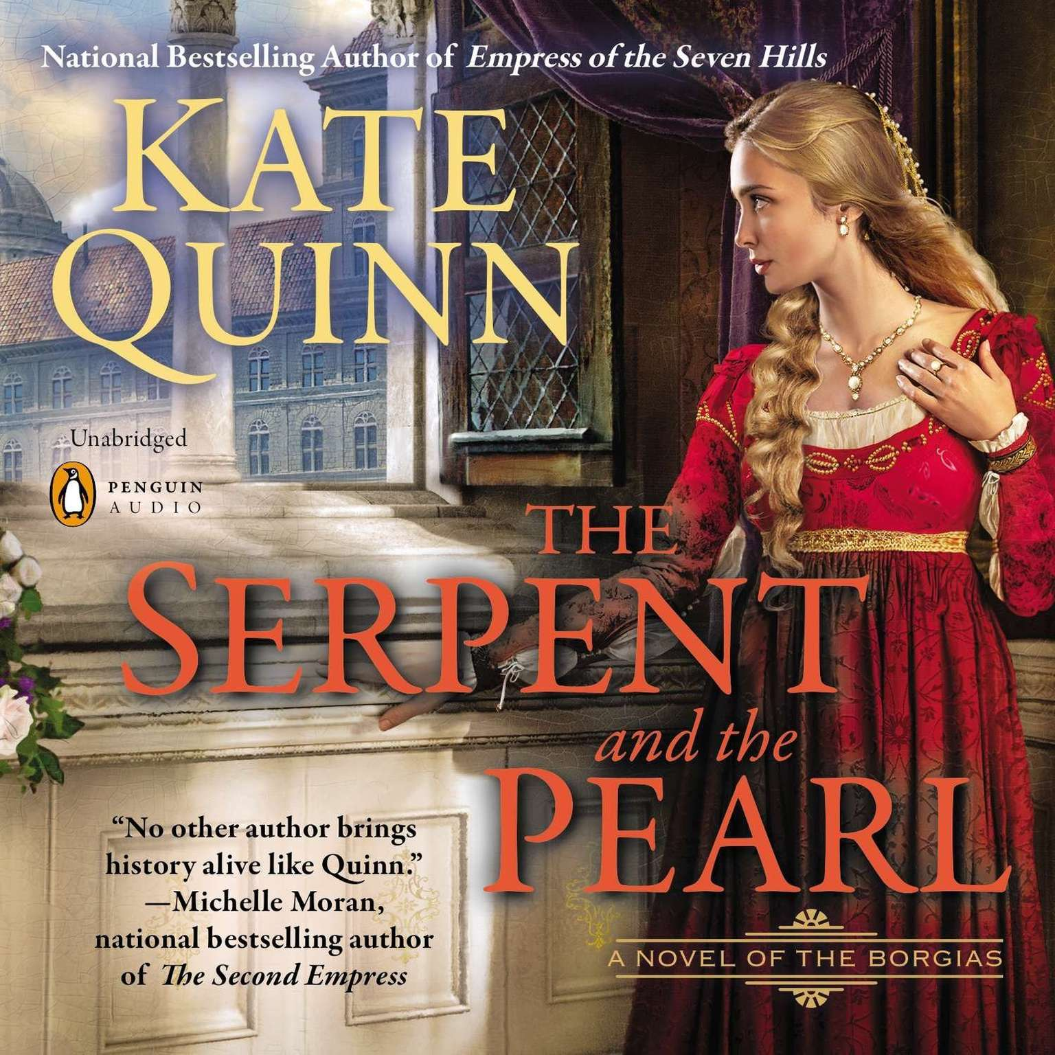Printable The Serpent and the Pearl Audiobook Cover Art