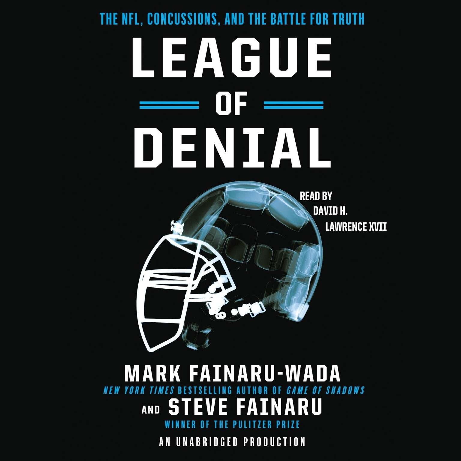 Printable League of Denial: The NFL, Concussions, and the Battle for Truth Audiobook Cover Art