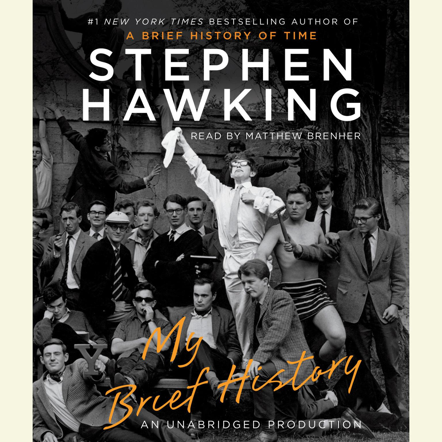 Printable My Brief History Audiobook Cover Art