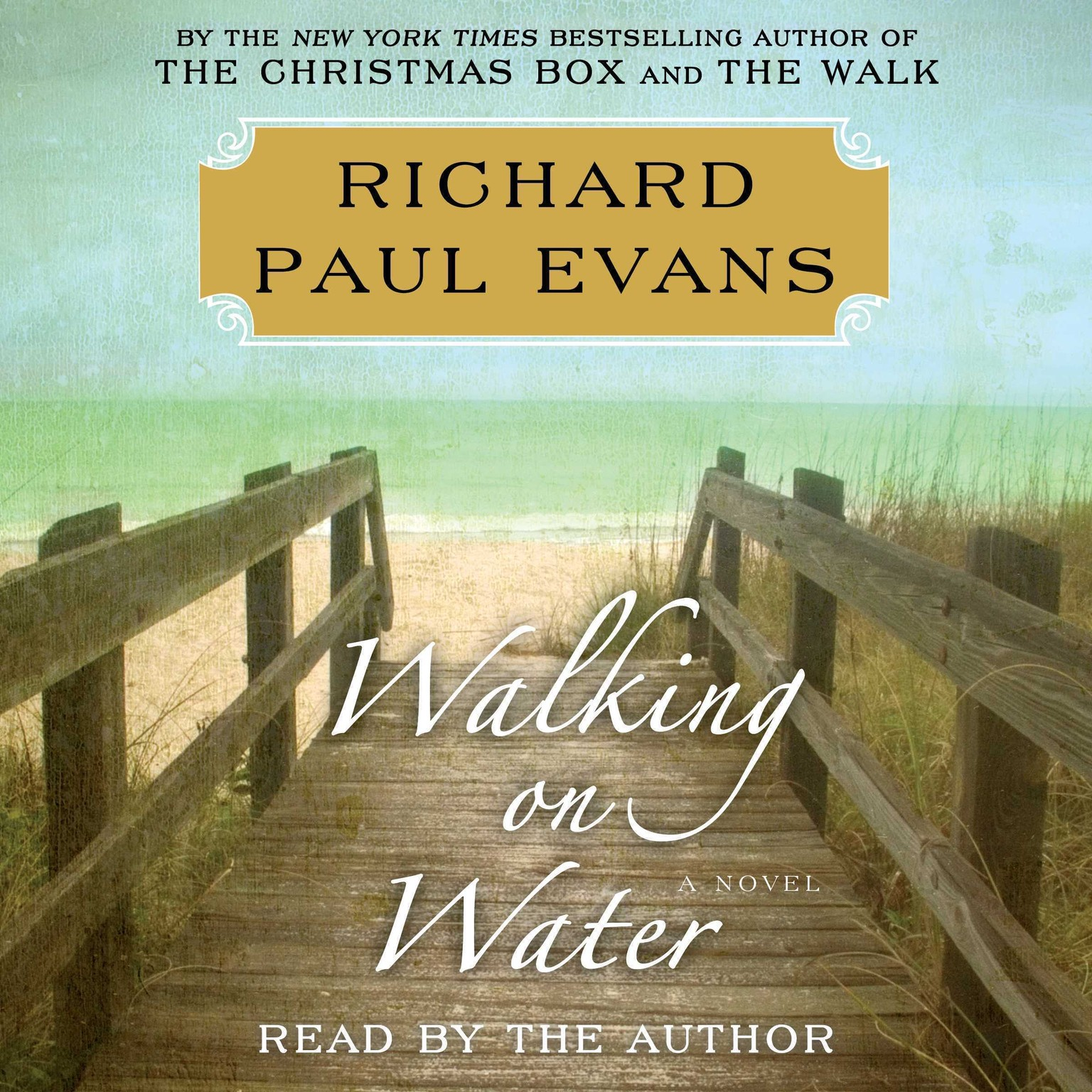 Printable Walking on Water Audiobook Cover Art