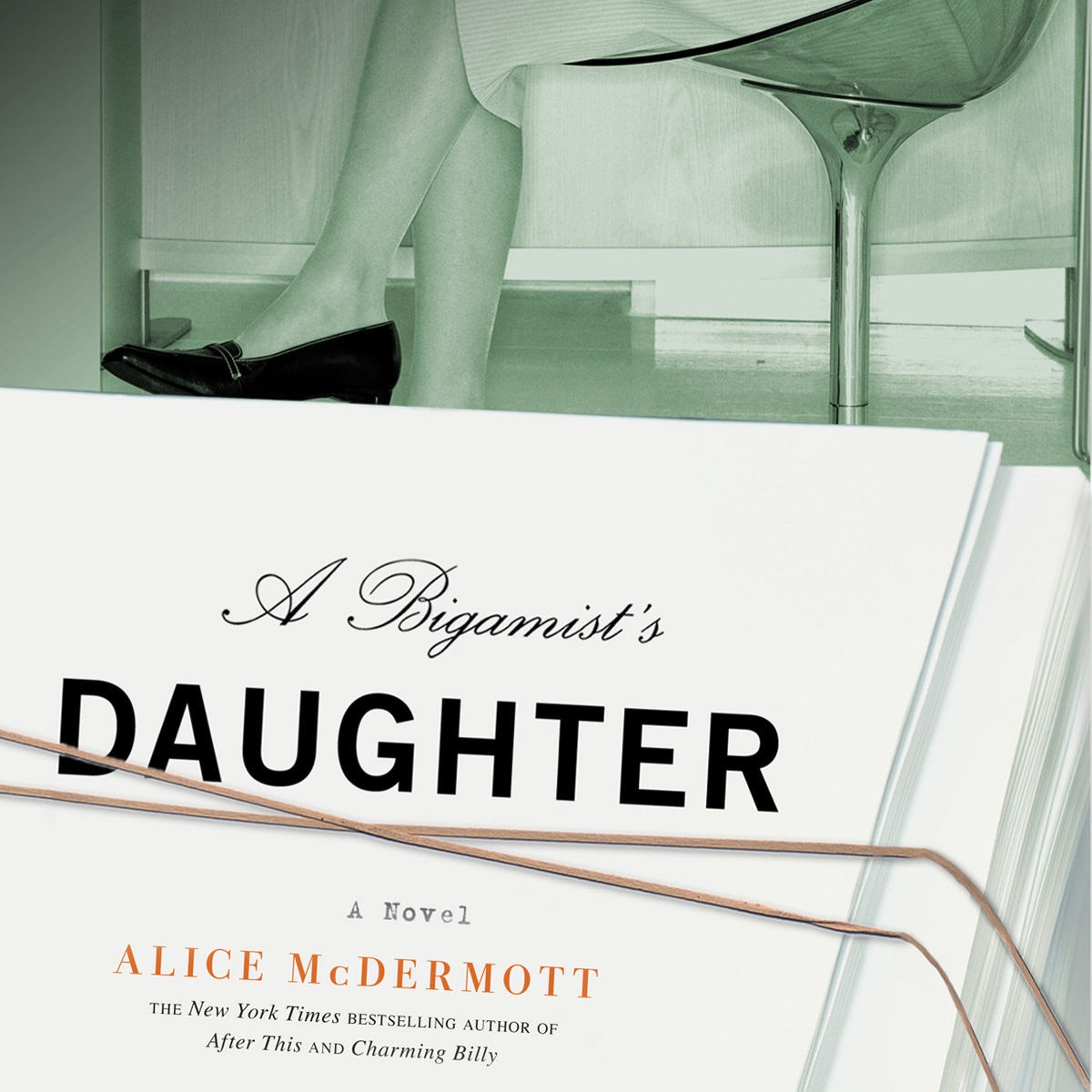 Printable A Bigamist's Daughter: A Novel Audiobook Cover Art