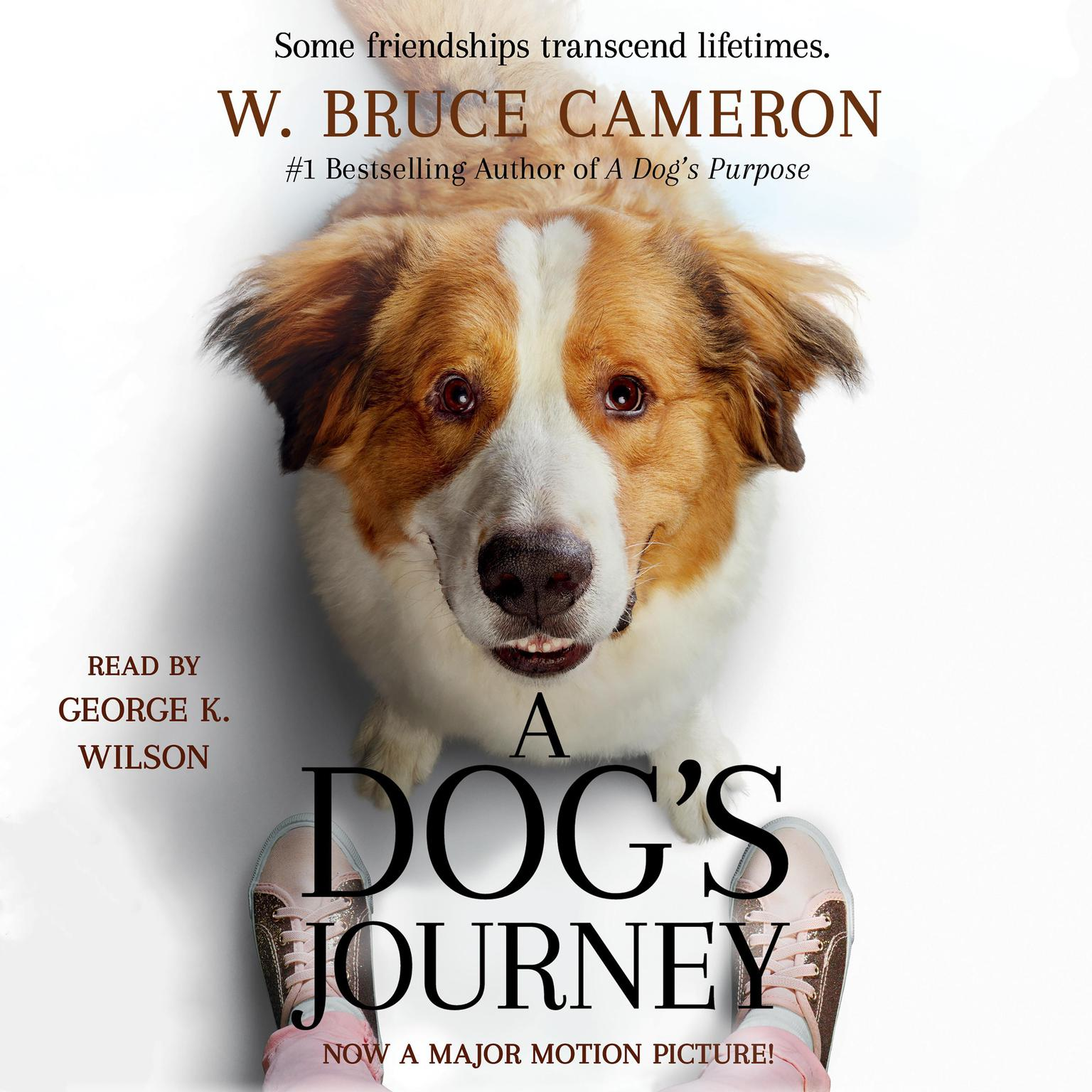 Printable A Dog's Journey: A Novel Audiobook Cover Art