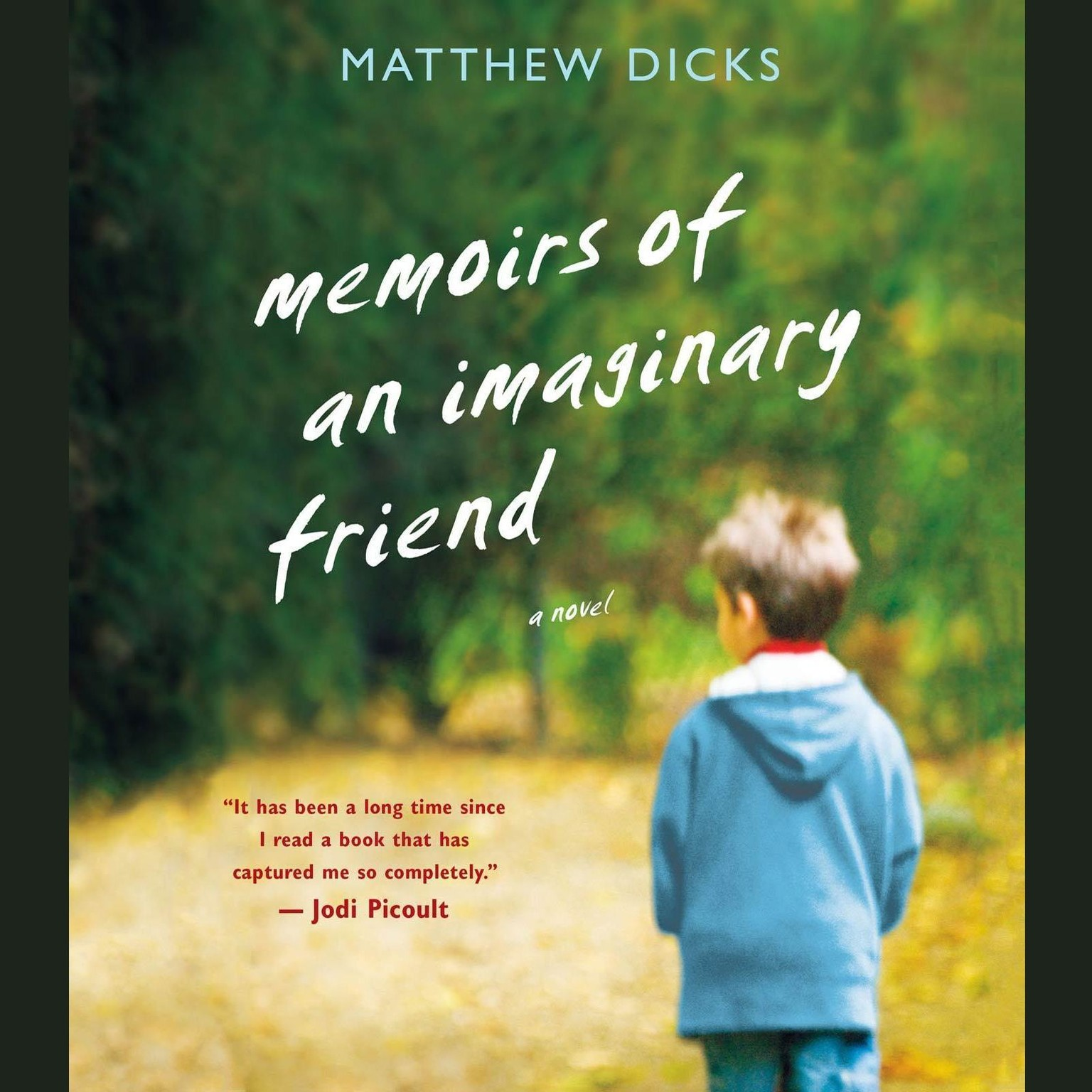 Printable Memoirs of an Imaginary Friend: A Novel Audiobook Cover Art