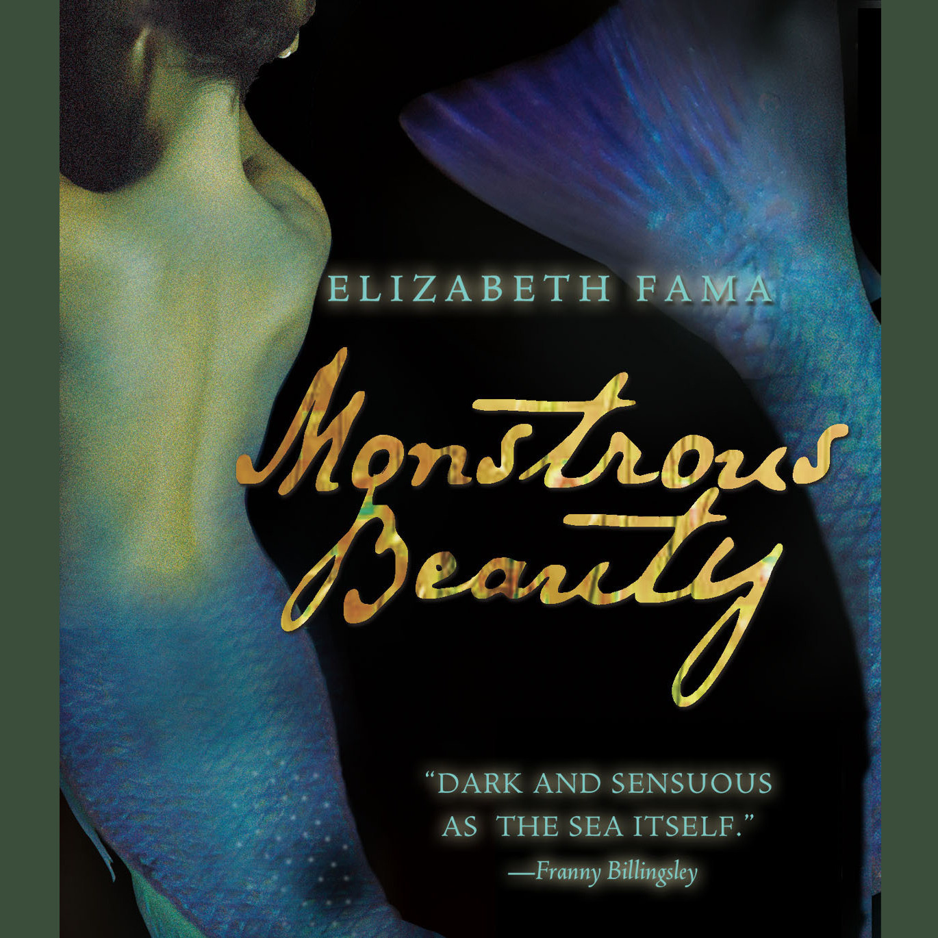 Printable Monstrous Beauty Audiobook Cover Art