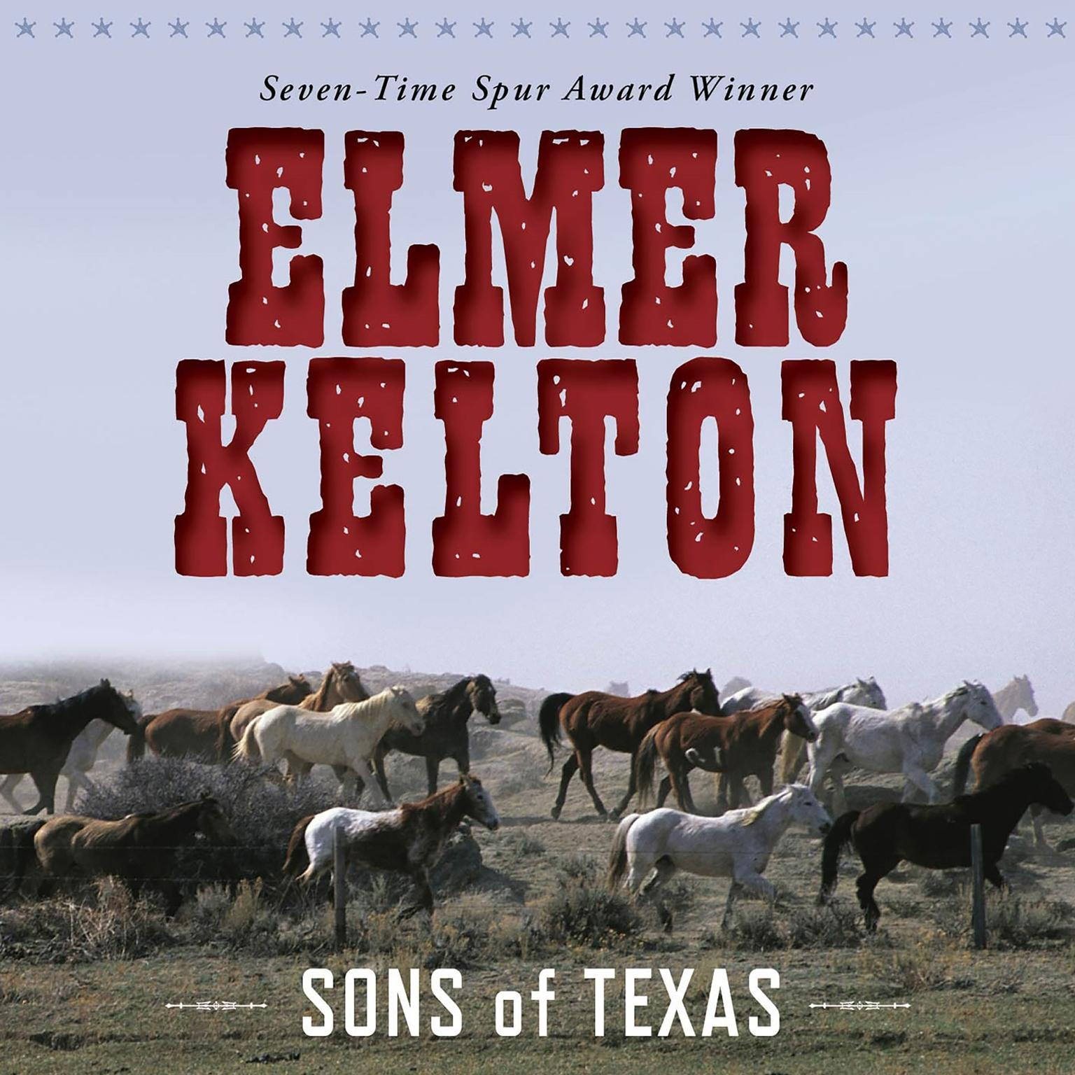 Printable Sons of Texas Audiobook Cover Art