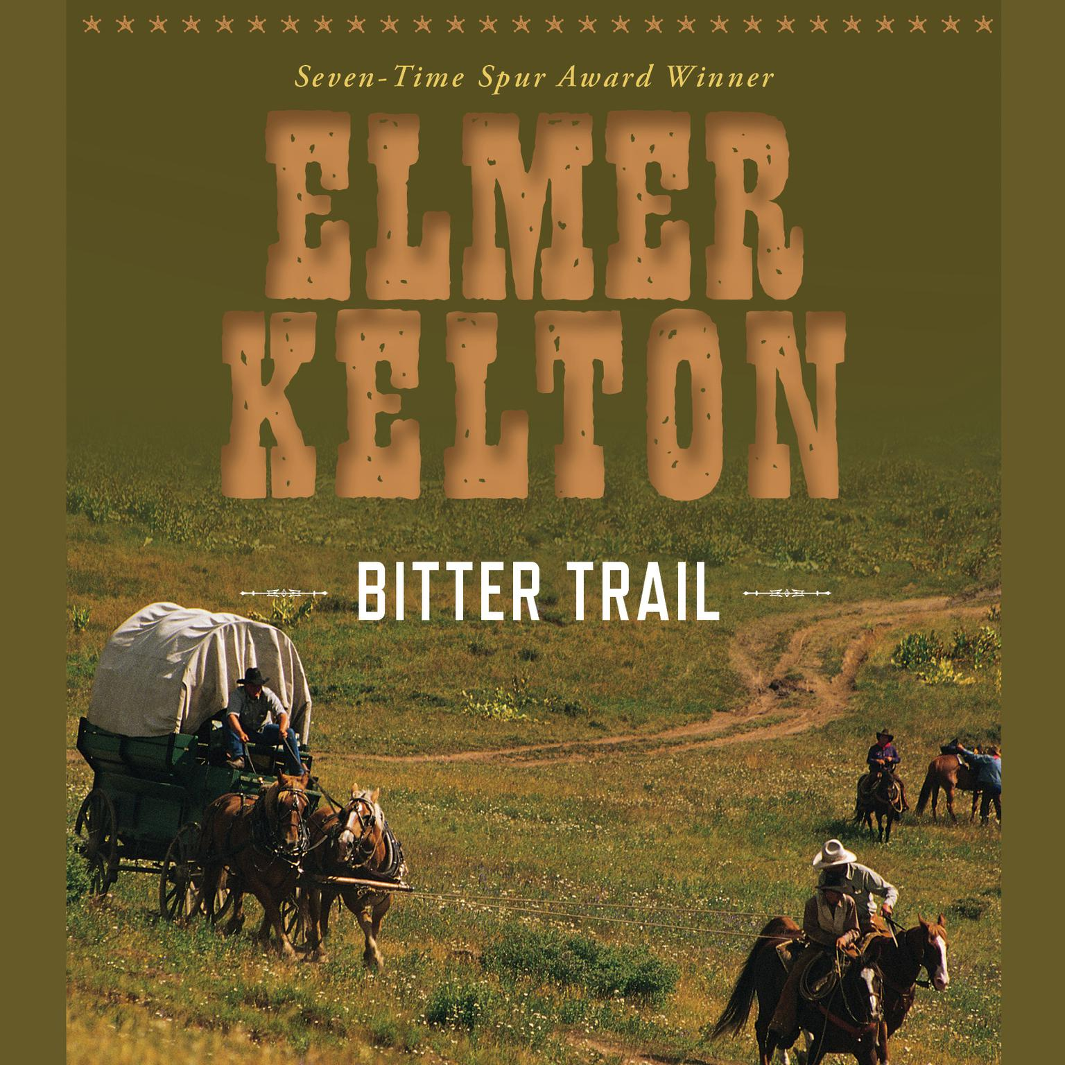 Printable Bitter Trail Audiobook Cover Art