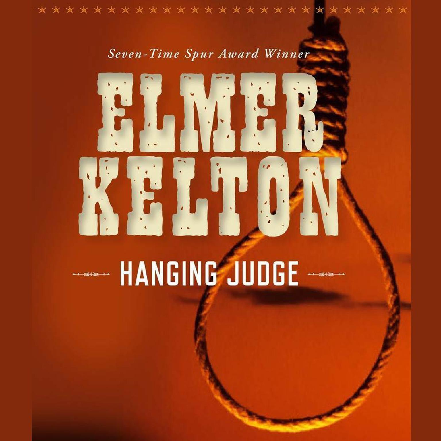 Printable Hanging Judge Audiobook Cover Art