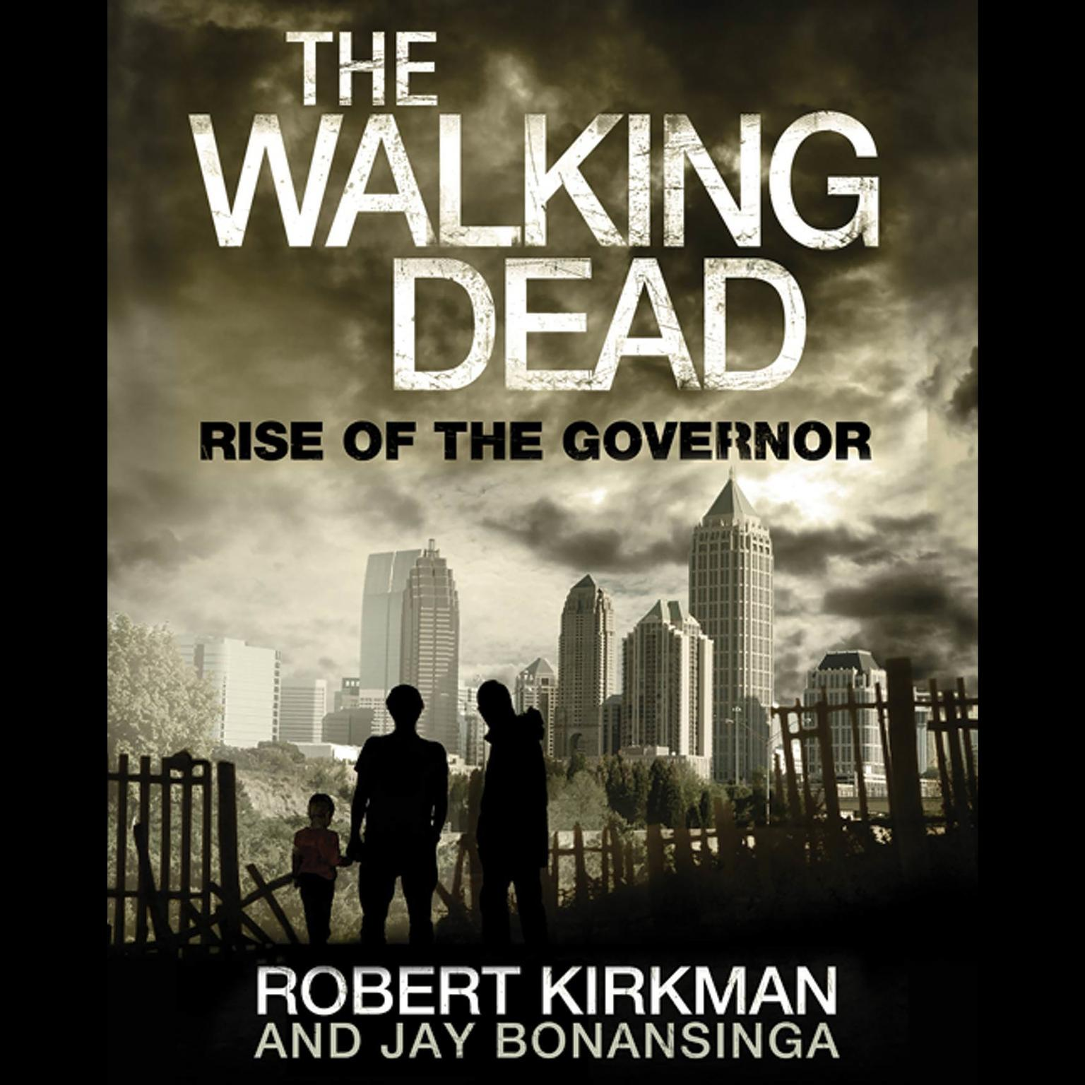 Printable The Walking Dead: Rise of the Governor Audiobook Cover Art