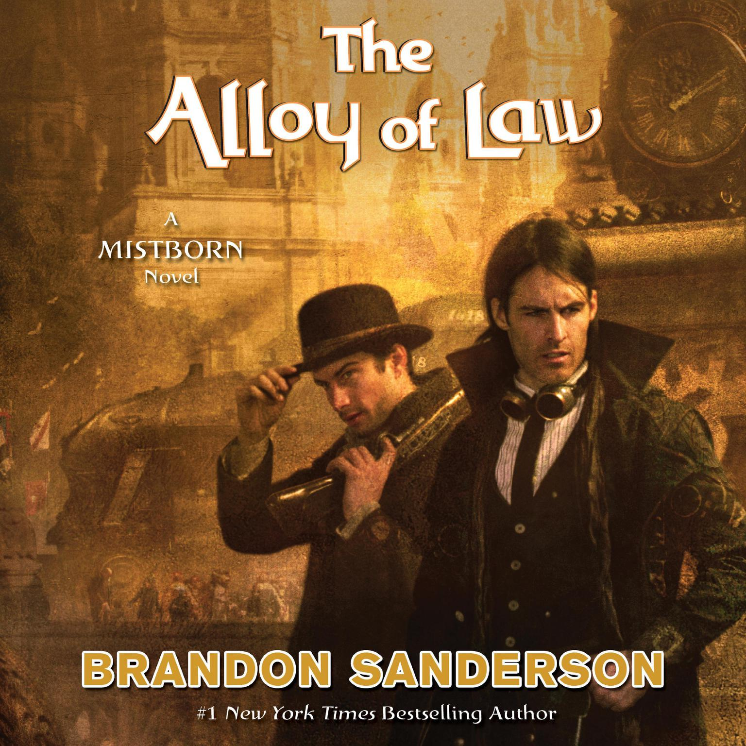 Printable The Alloy of Law: A Mistborn Novel Audiobook Cover Art