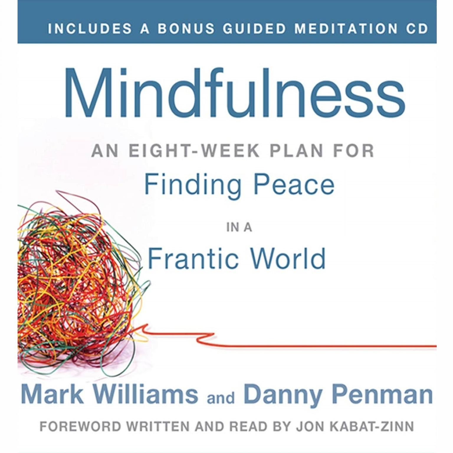 Printable Mindfulness: An Eight-Week Plan for Finding Peace in a Frantic World Audiobook Cover Art
