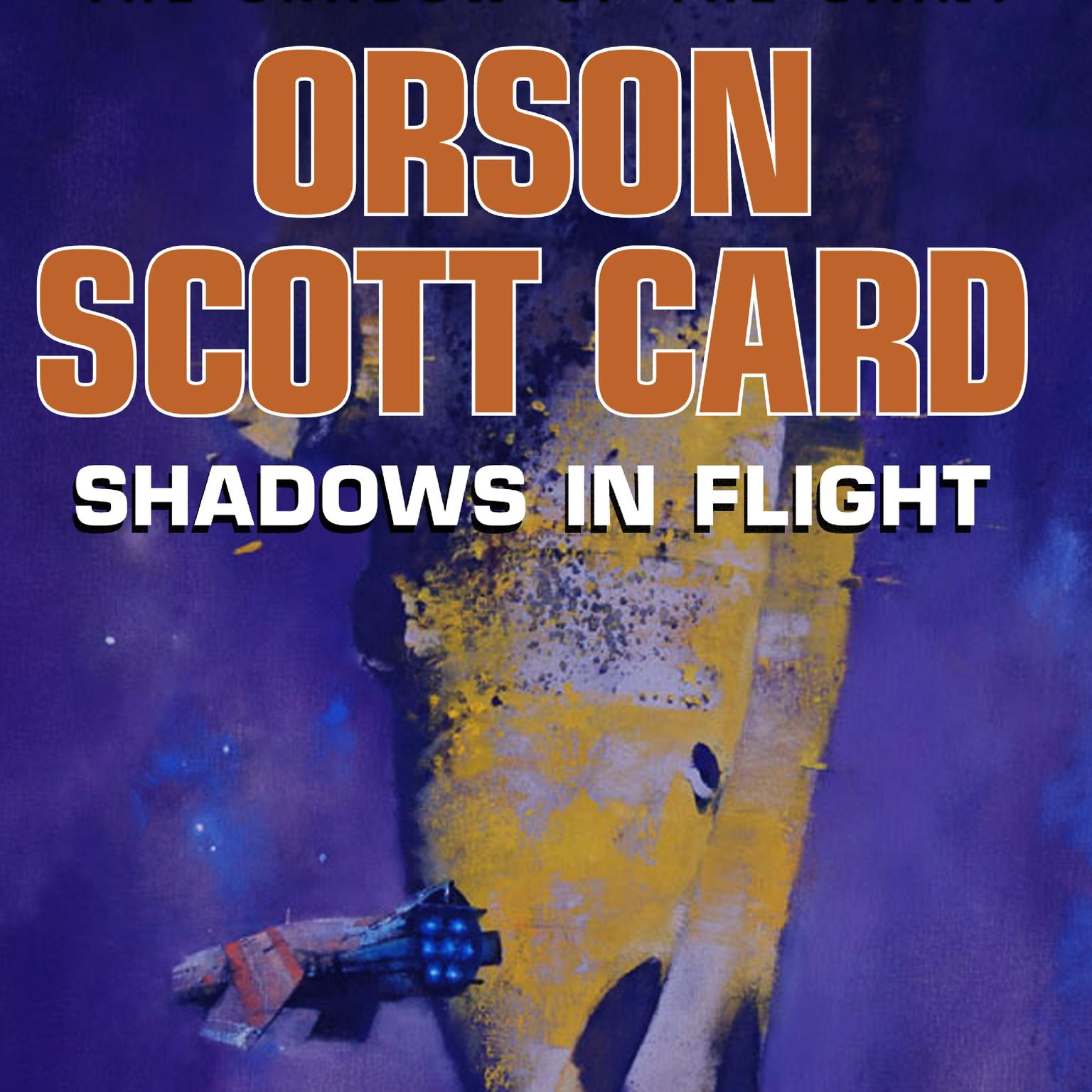 Printable Shadows in Flight Audiobook Cover Art