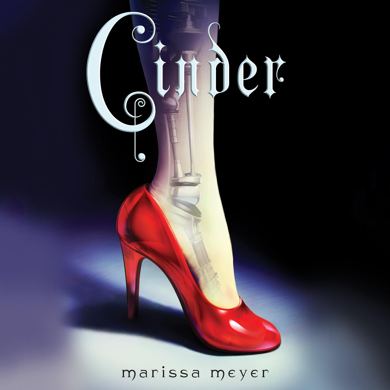Printable Cinder: Book One of the Lunar Chronicles Audiobook Cover Art