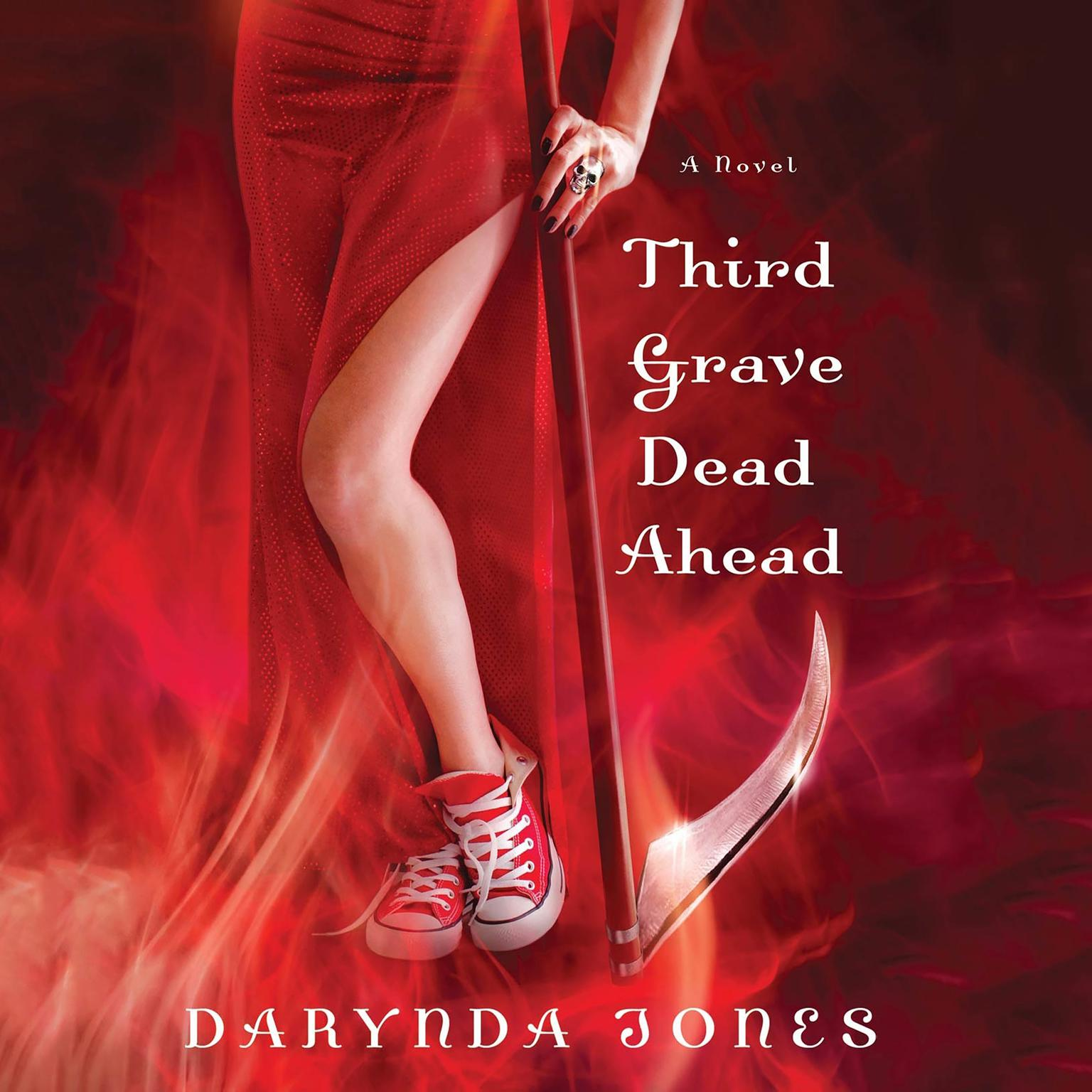 Printable Third Grave Dead Ahead Audiobook Cover Art