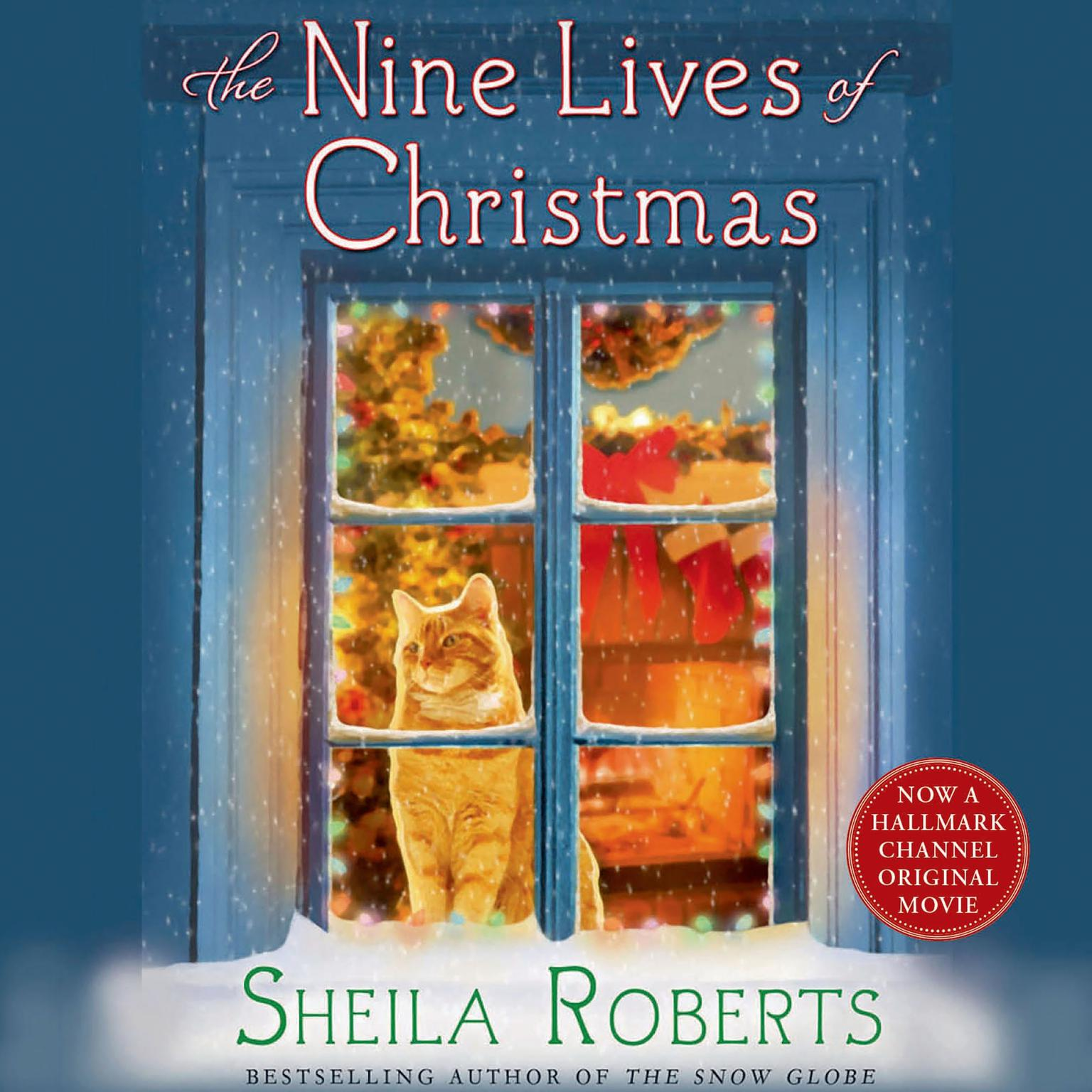 Printable The Nine Lives of Christmas Audiobook Cover Art
