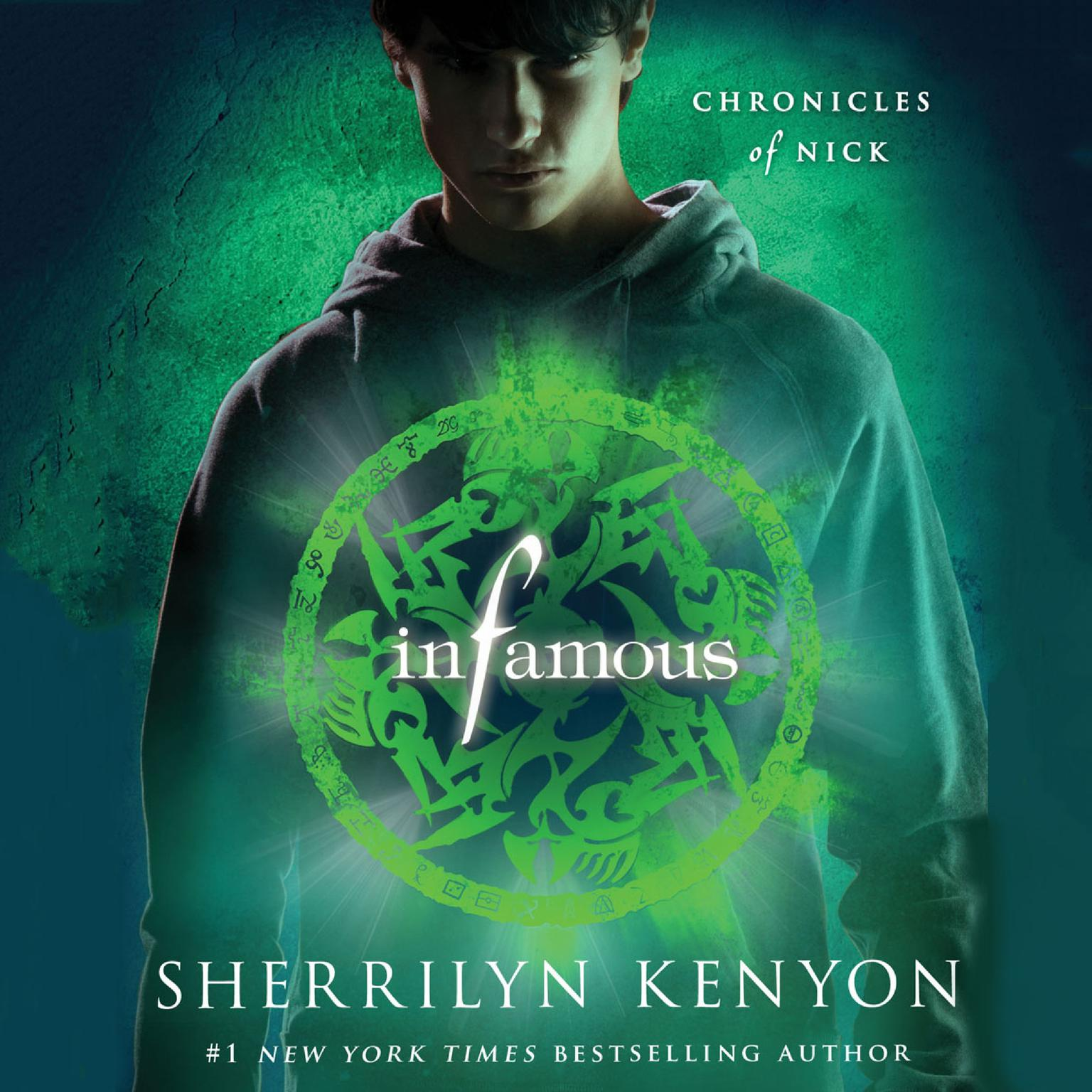 Printable Infamous: Chronicles of Nick Audiobook Cover Art