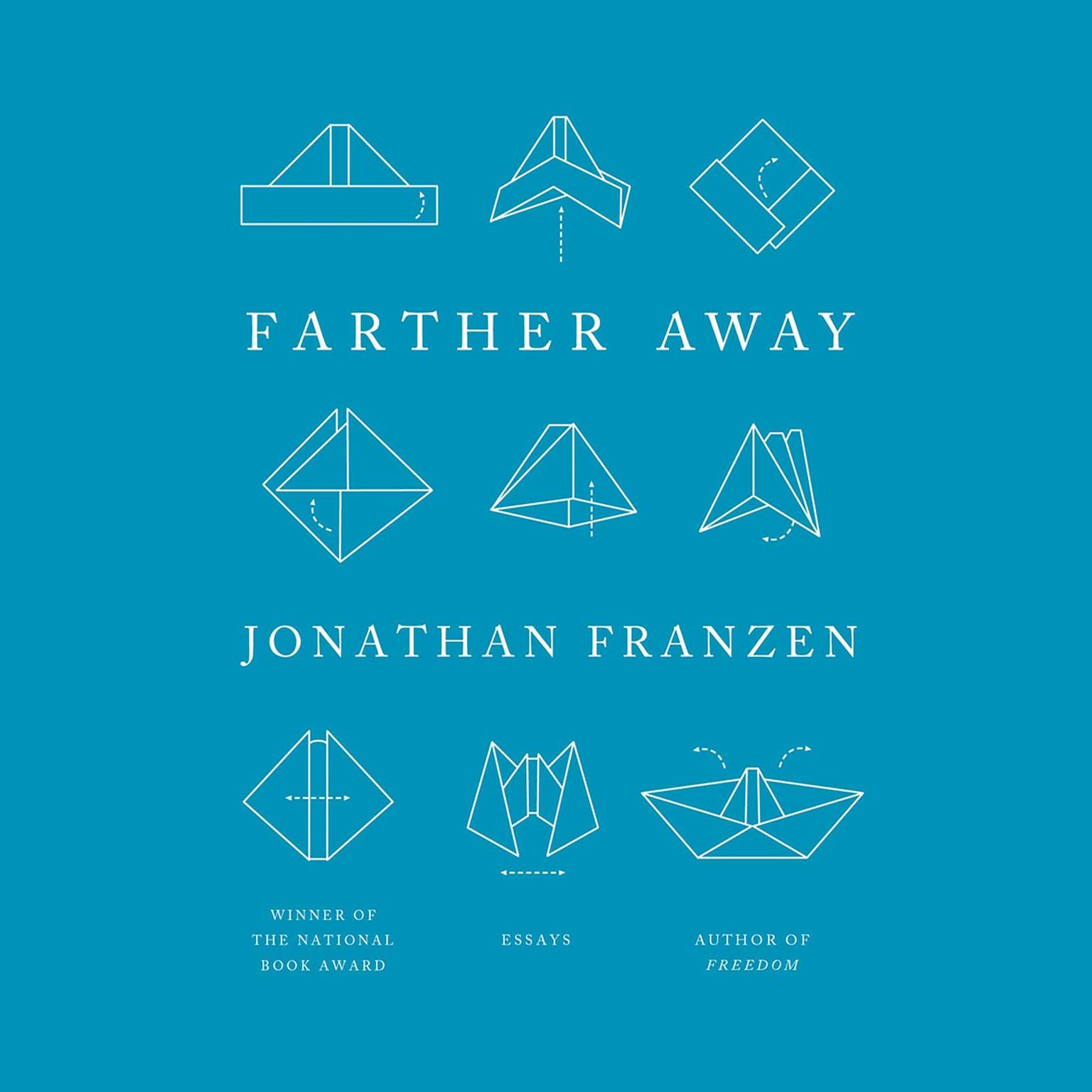 Printable Farther Away: Essays Audiobook Cover Art