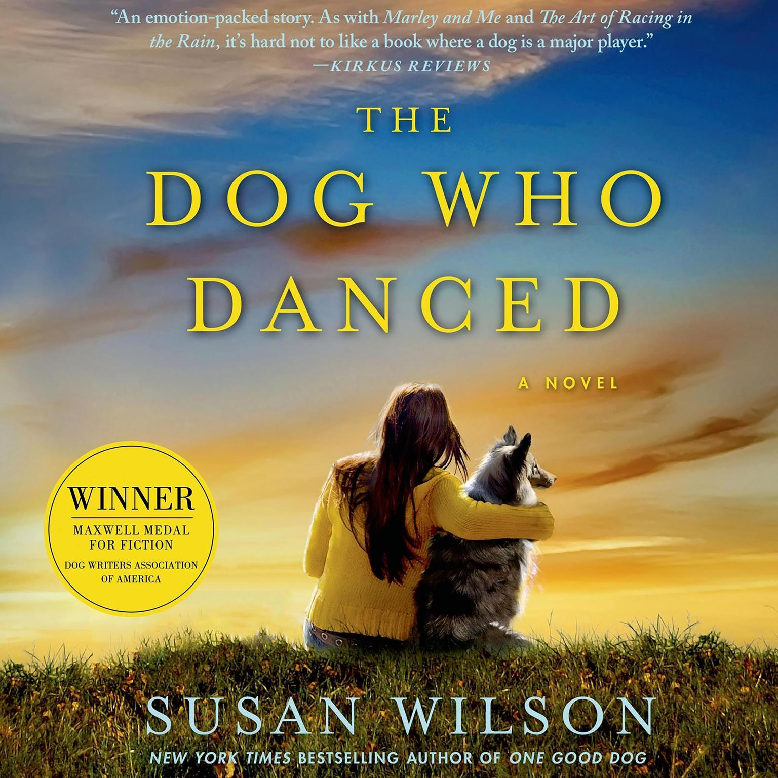 Printable The Dog Who Danced: A novel Audiobook Cover Art