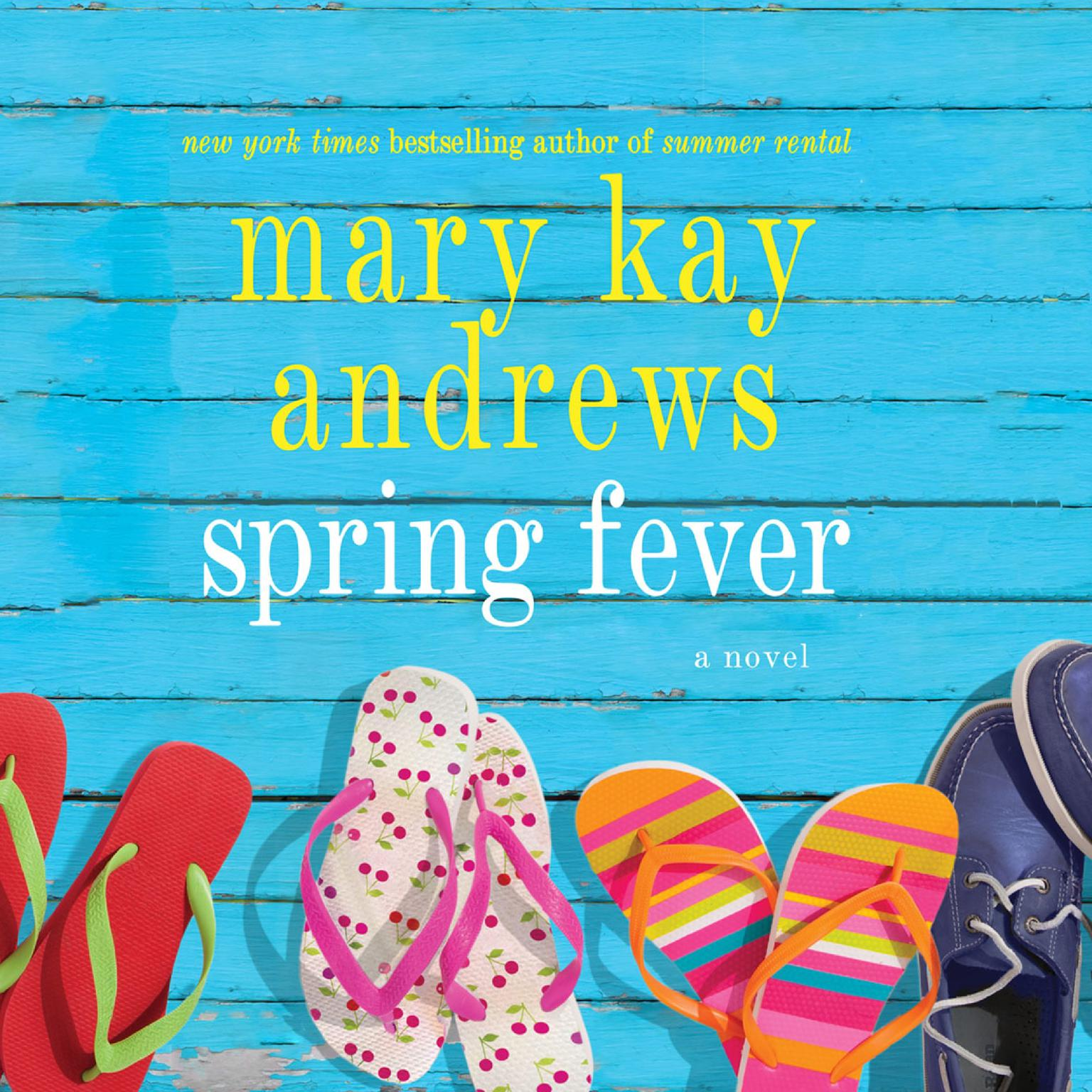 Printable Spring Fever: A Novel Audiobook Cover Art