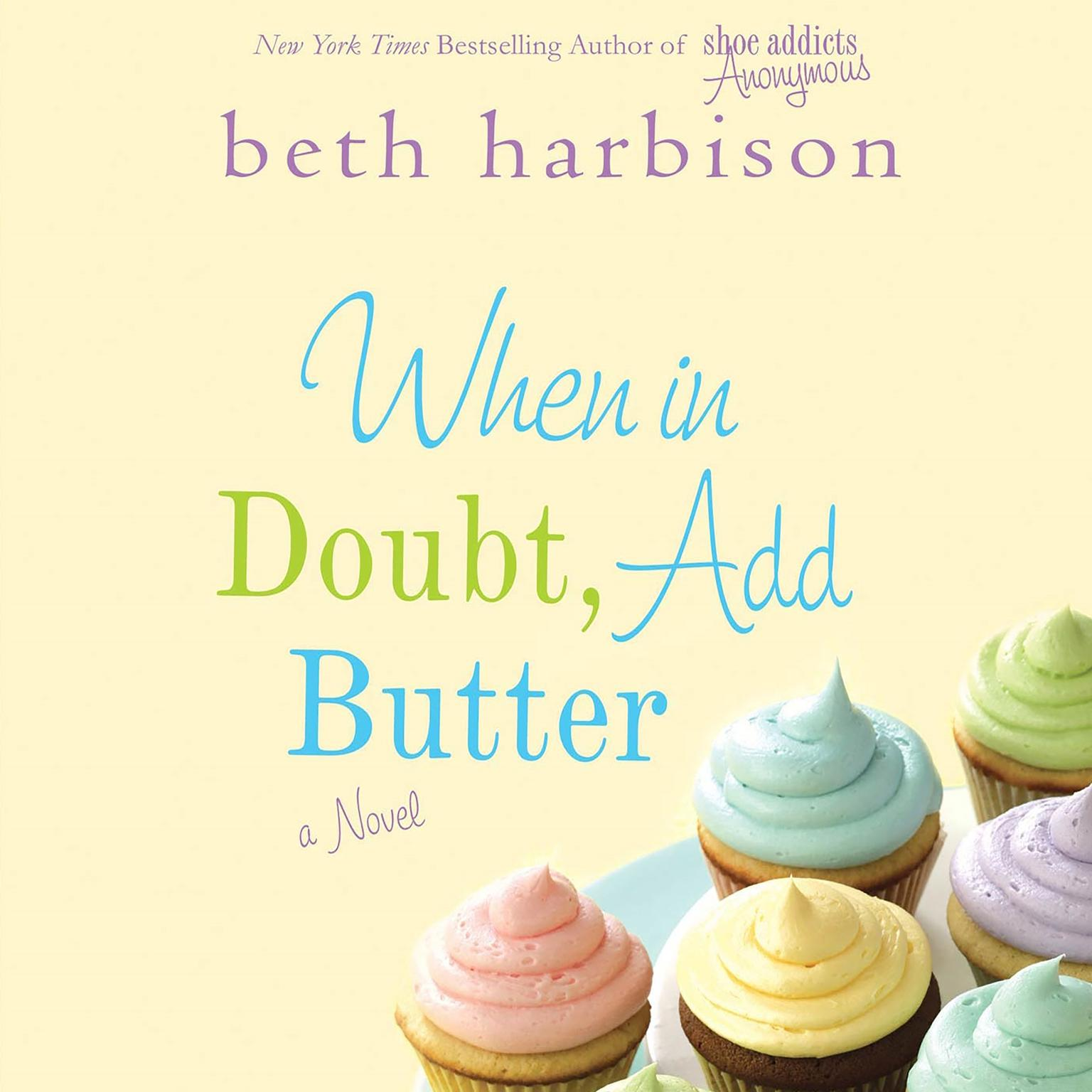 Printable When in Doubt, Add Butter Audiobook Cover Art