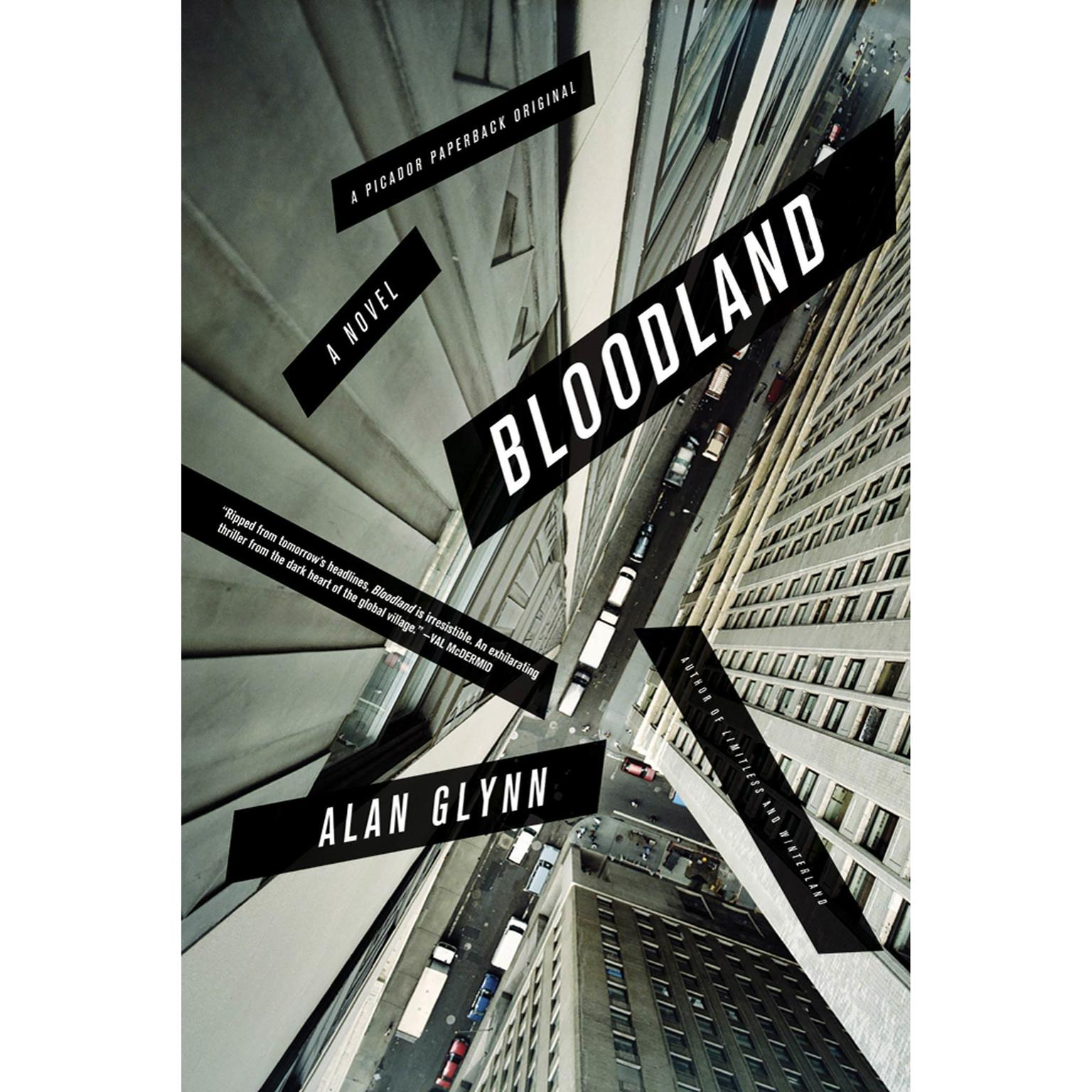 Printable Bloodland: A Novel Audiobook Cover Art