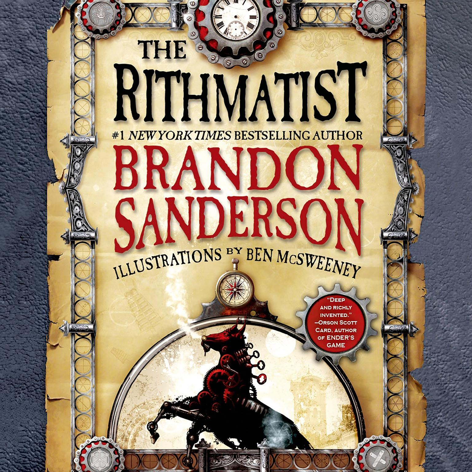 Printable The Rithmatist Audiobook Cover Art