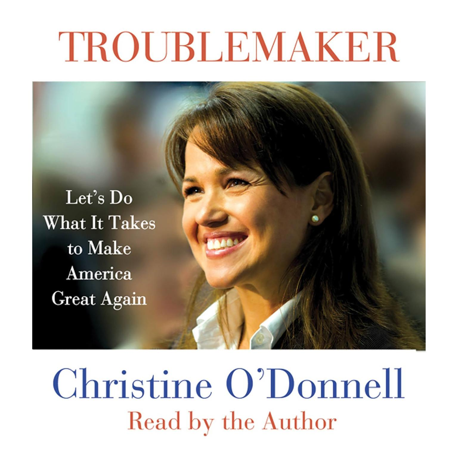 Printable Troublemaker: Let's Do What It Takes to Make America Great Again Audiobook Cover Art