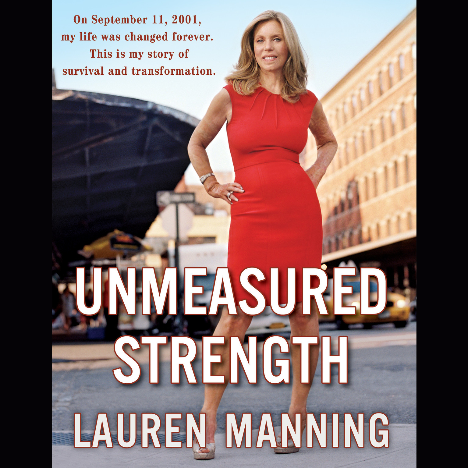 Printable Unmeasured Strength: A Story of Survival and Transformation Audiobook Cover Art