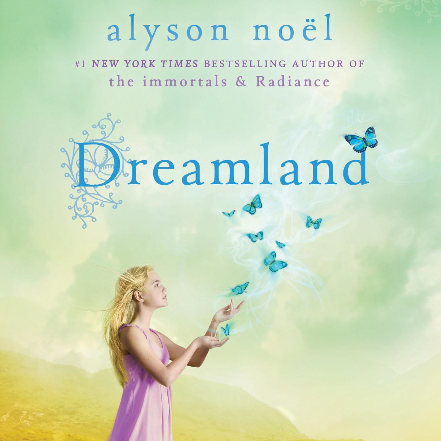 Printable Dreamland: A Riley Bloom Book Audiobook Cover Art