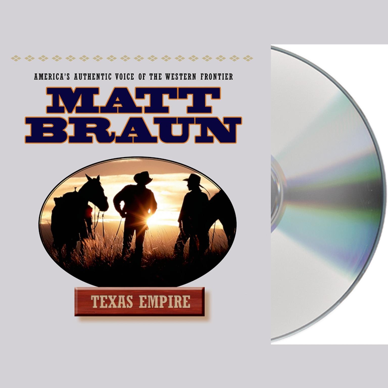 Printable Texas Empire Audiobook Cover Art