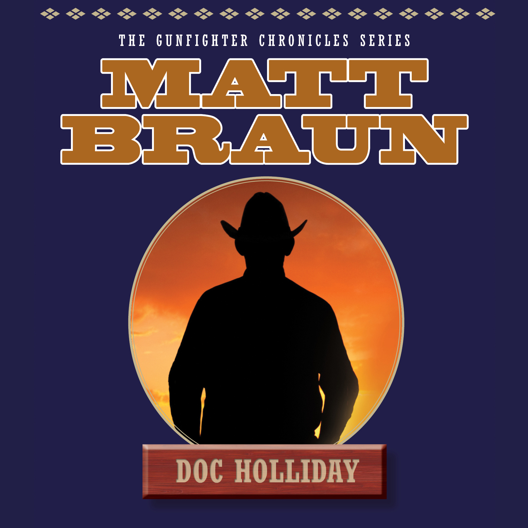 Printable Doc Holliday Audiobook Cover Art