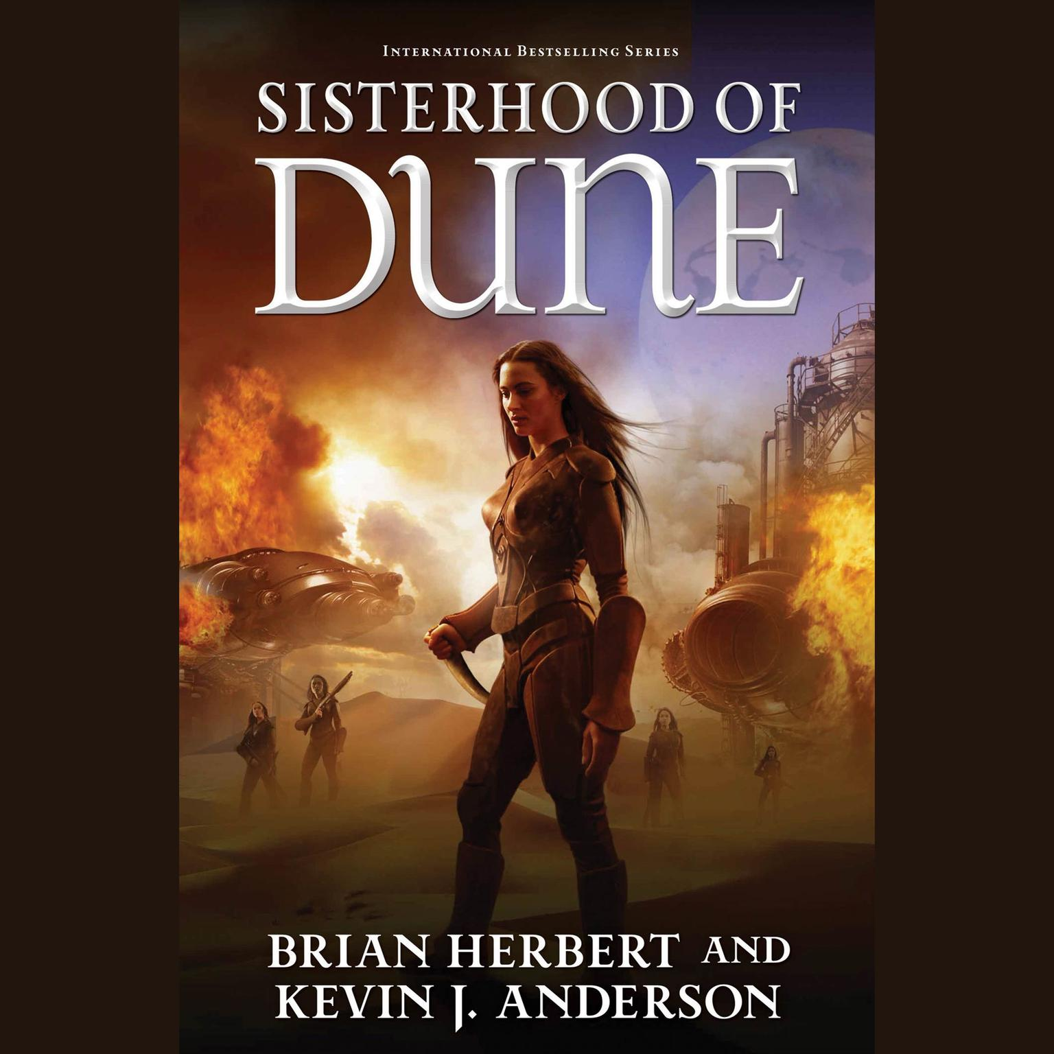 Printable Sisterhood of Dune Audiobook Cover Art