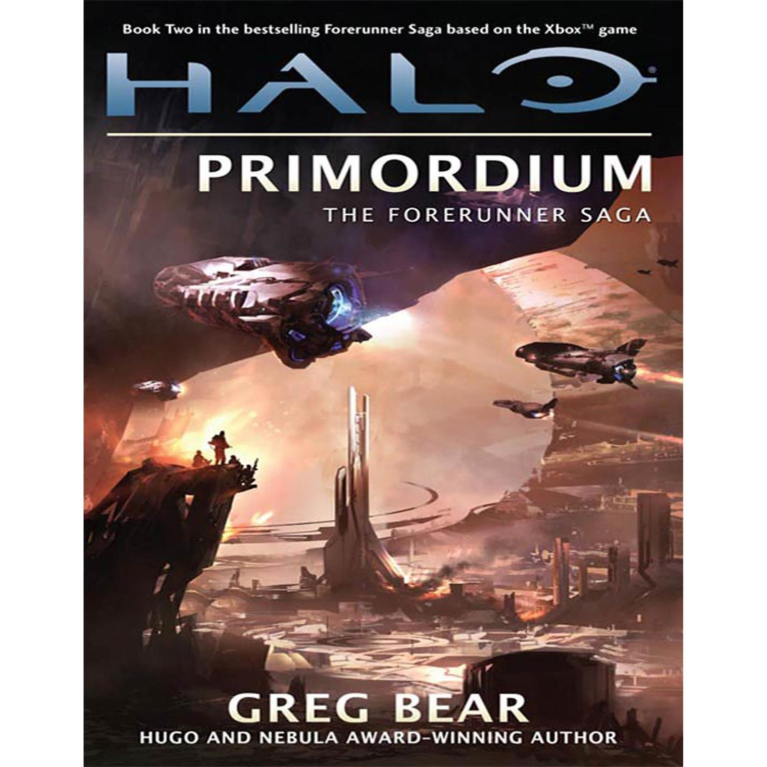 Printable Halo: Primordium: Book Two of the Forerunner Saga Audiobook Cover Art