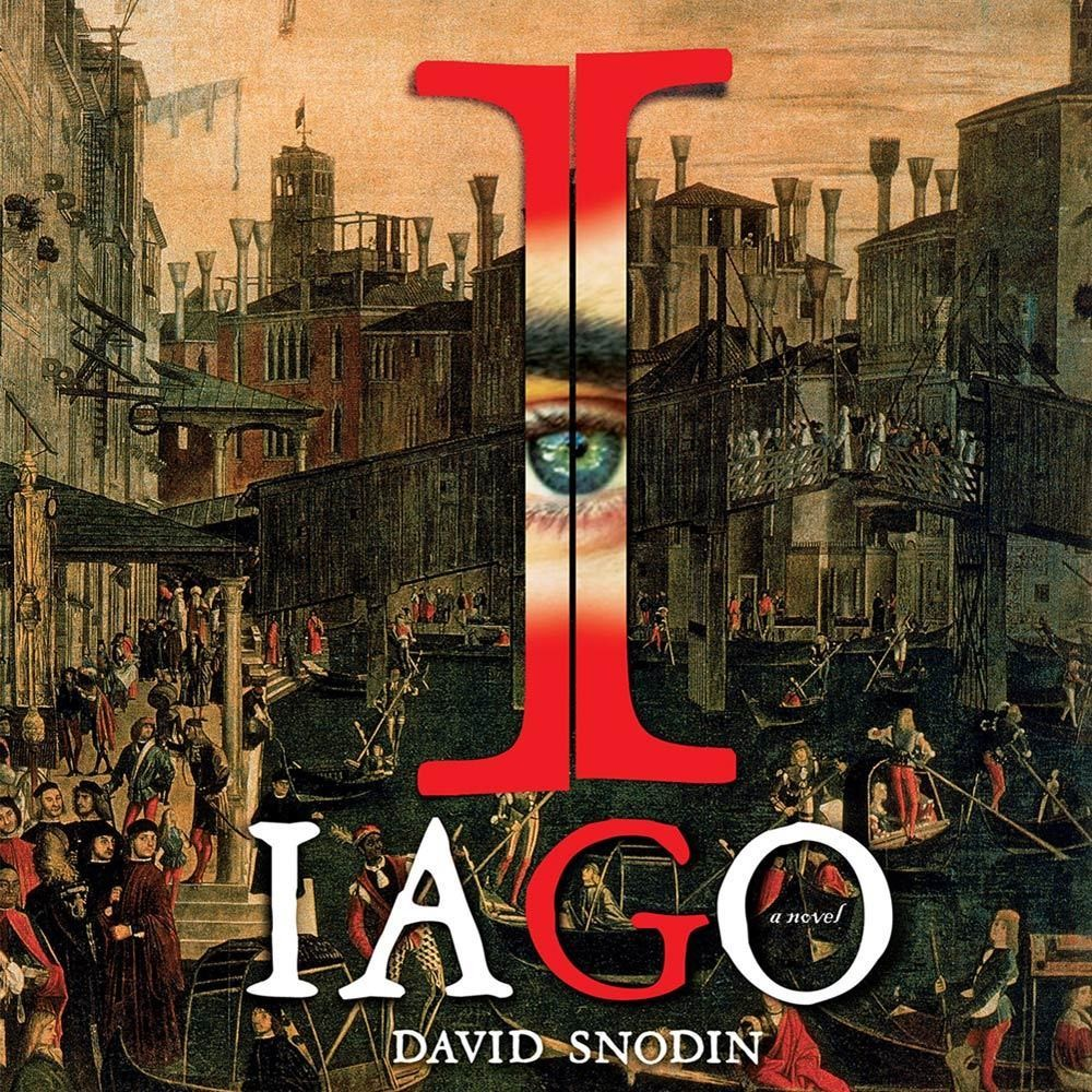 Printable Iago: A Novel Audiobook Cover Art
