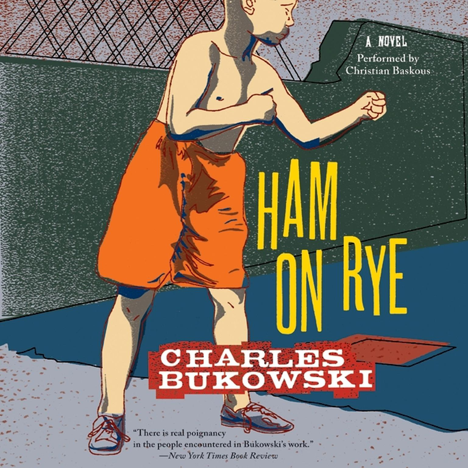 Printable Ham On Rye: A Novel Audiobook Cover Art