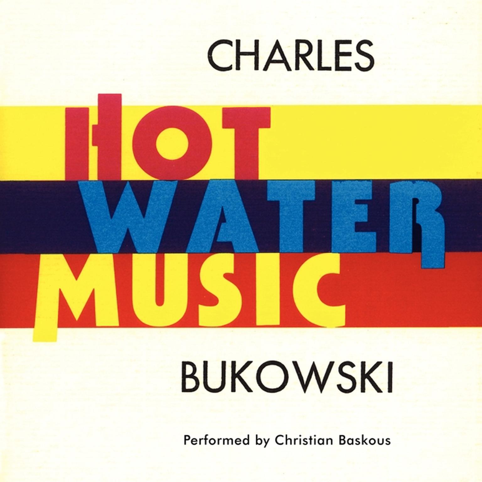Printable Hot Water Music Audiobook Cover Art