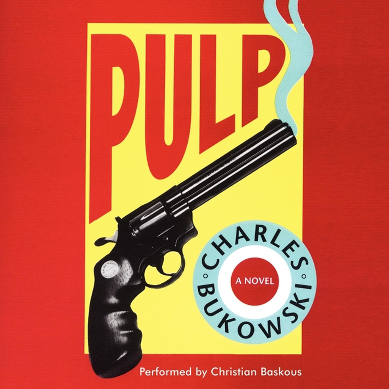 Printable Pulp Audiobook Cover Art