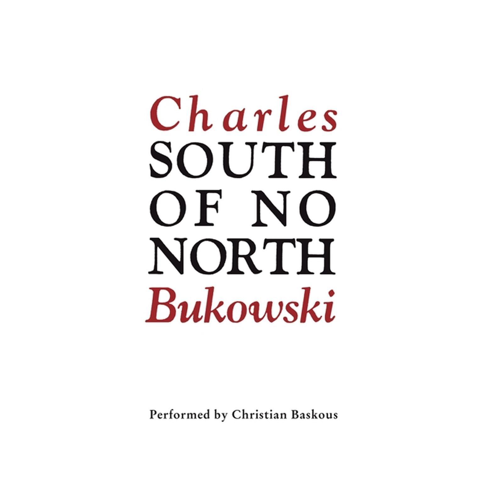 Printable South of No North Audiobook Cover Art