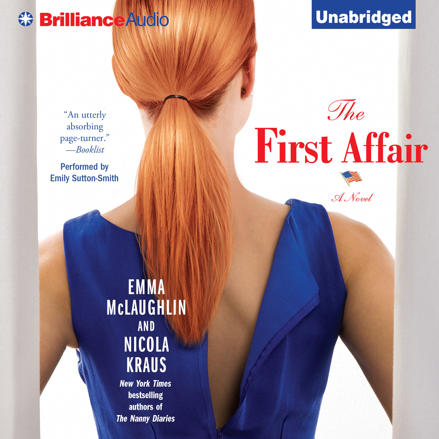 Printable The First Affair: A Novel Audiobook Cover Art