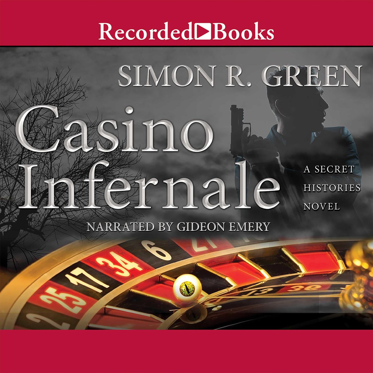 Printable Casino Infernale Audiobook Cover Art