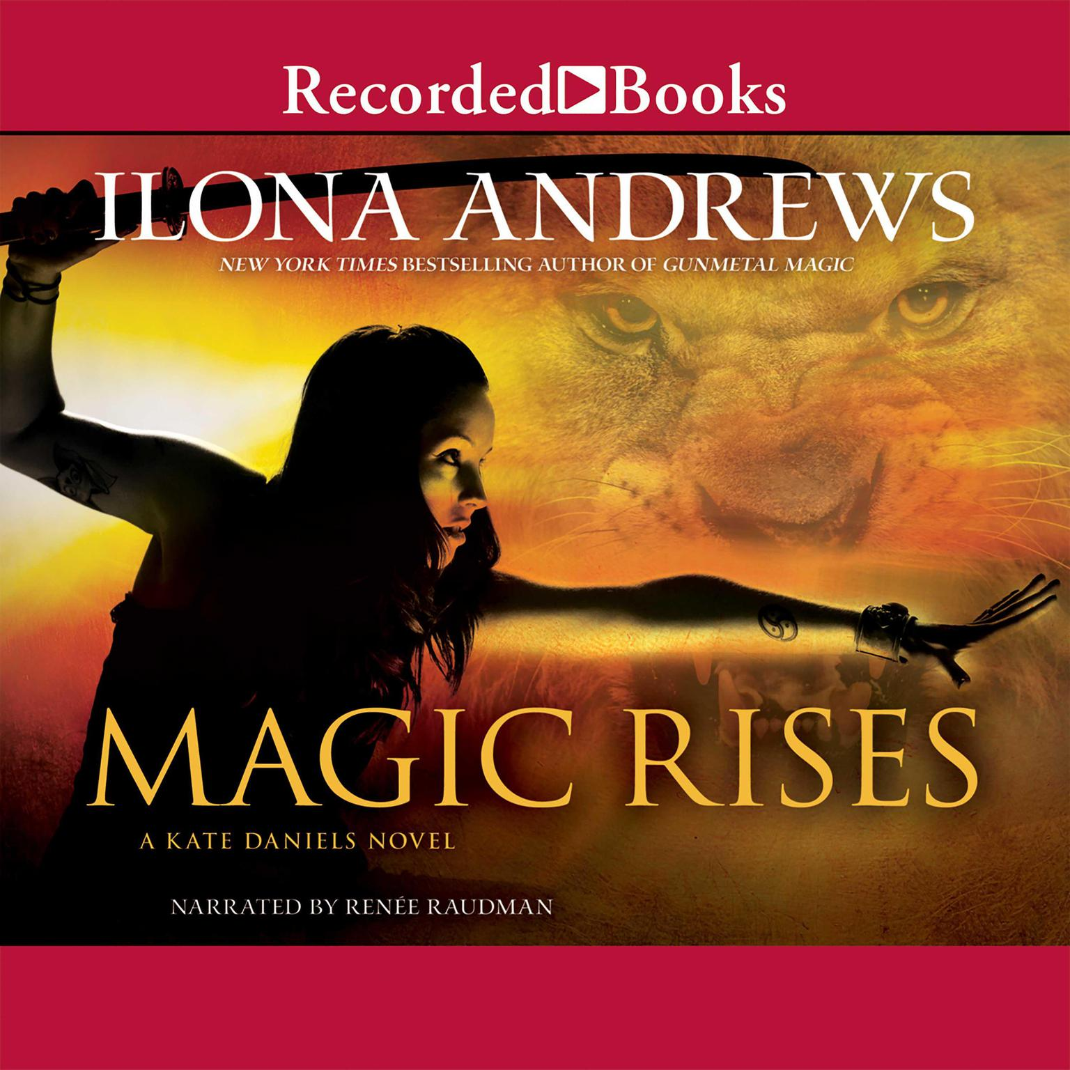 Printable Magic Rises Audiobook Cover Art