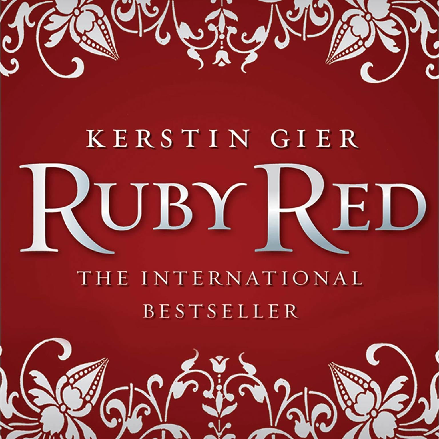 Printable Ruby Red Audiobook Cover Art