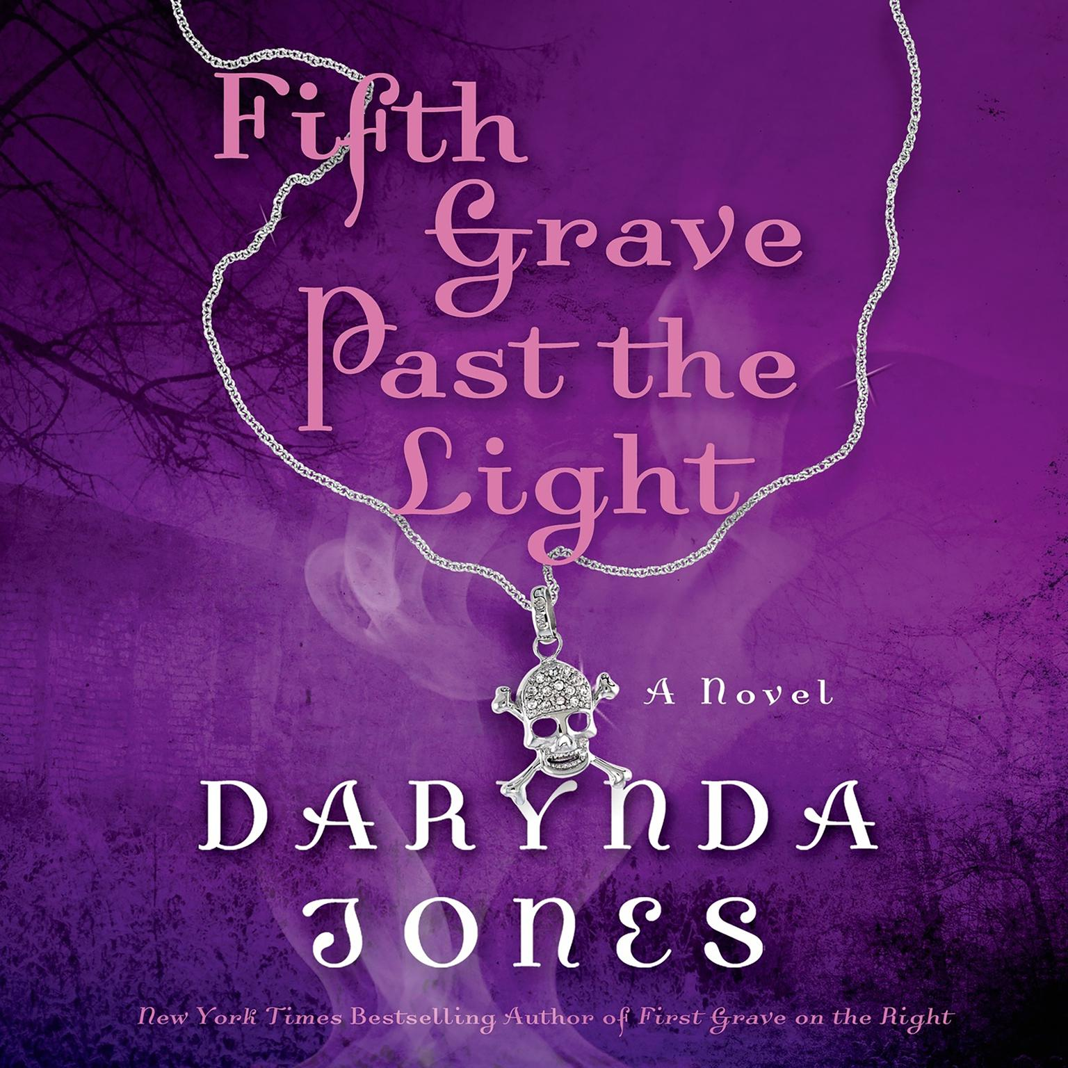 Printable Fifth Grave Past the Light Audiobook Cover Art