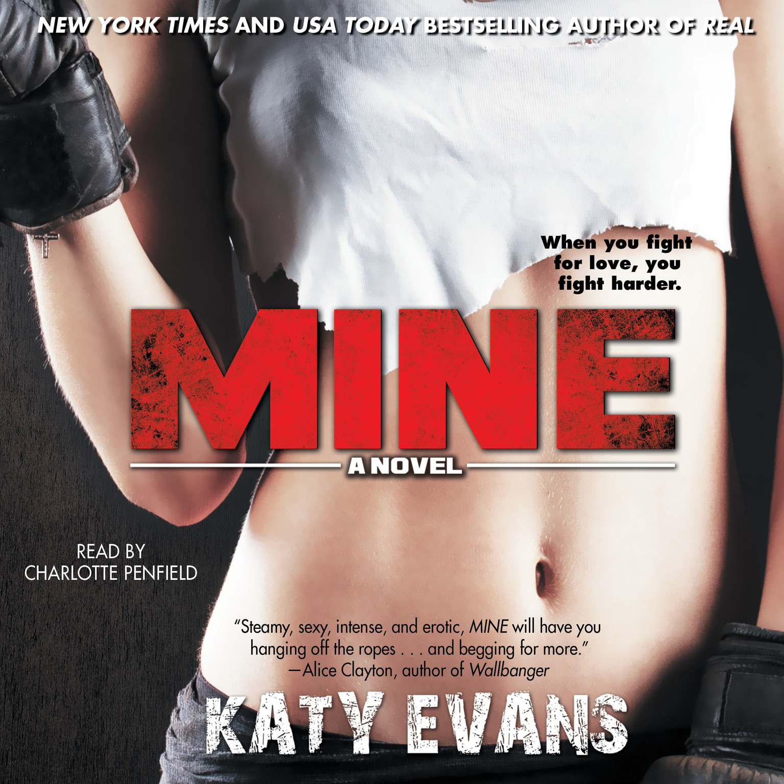 Printable Mine Audiobook Cover Art