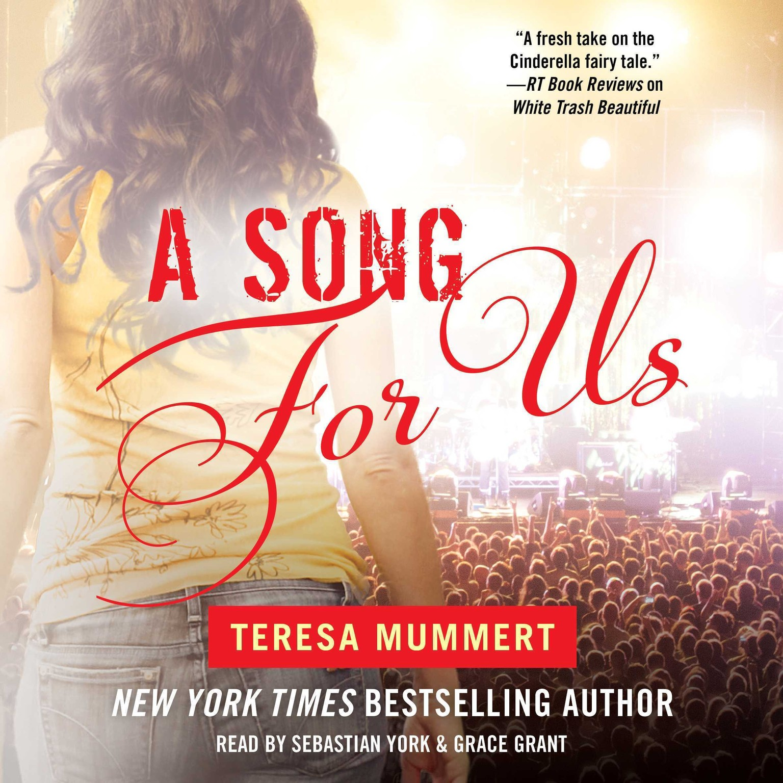 Printable A Song for Us Audiobook Cover Art