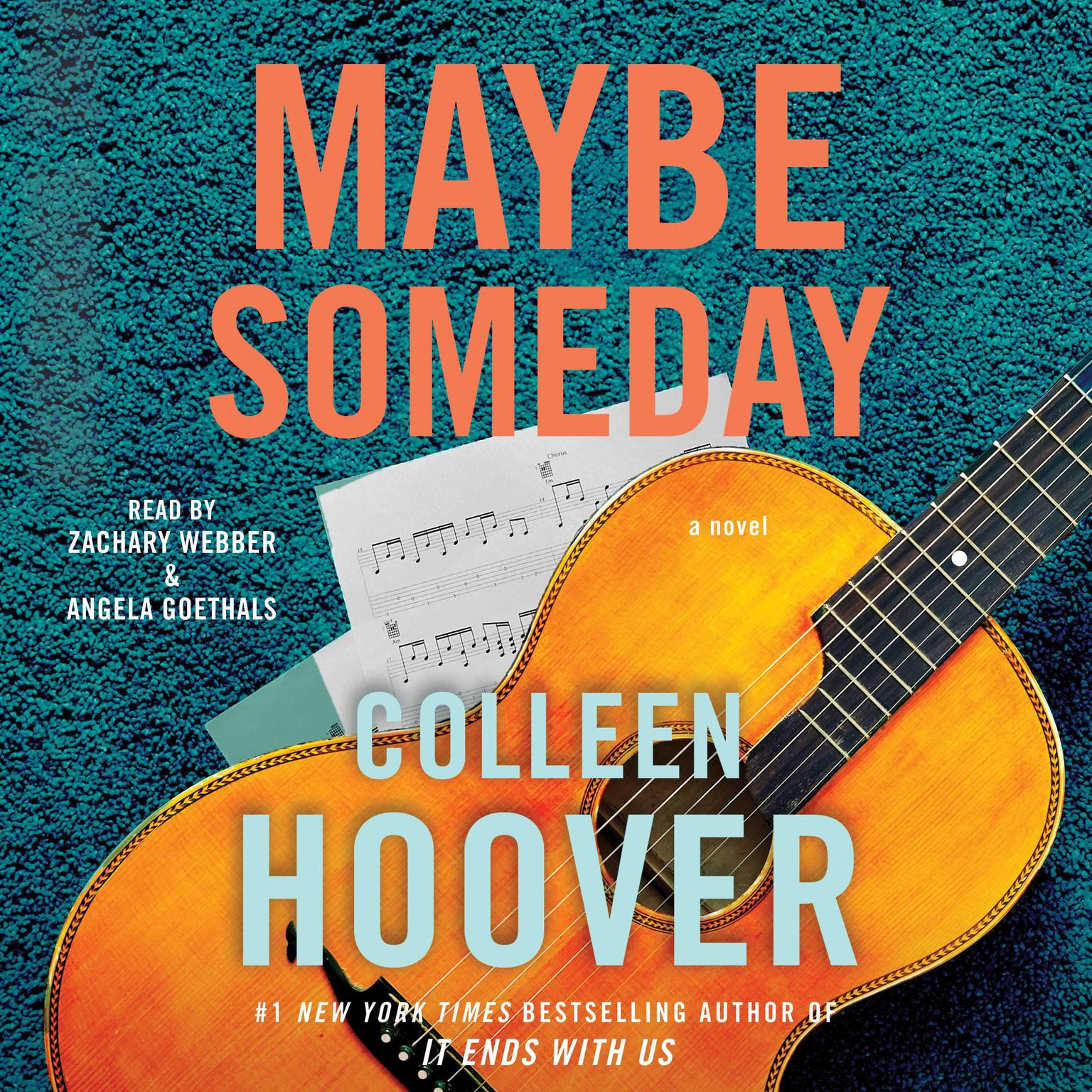 Printable Maybe Someday Audiobook Cover Art