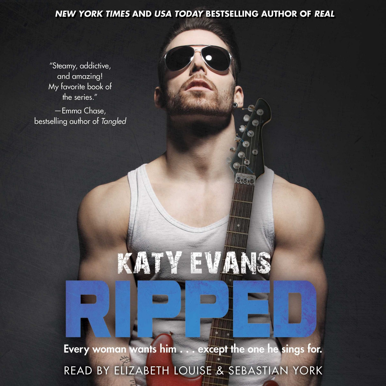 Printable Ripped Audiobook Cover Art