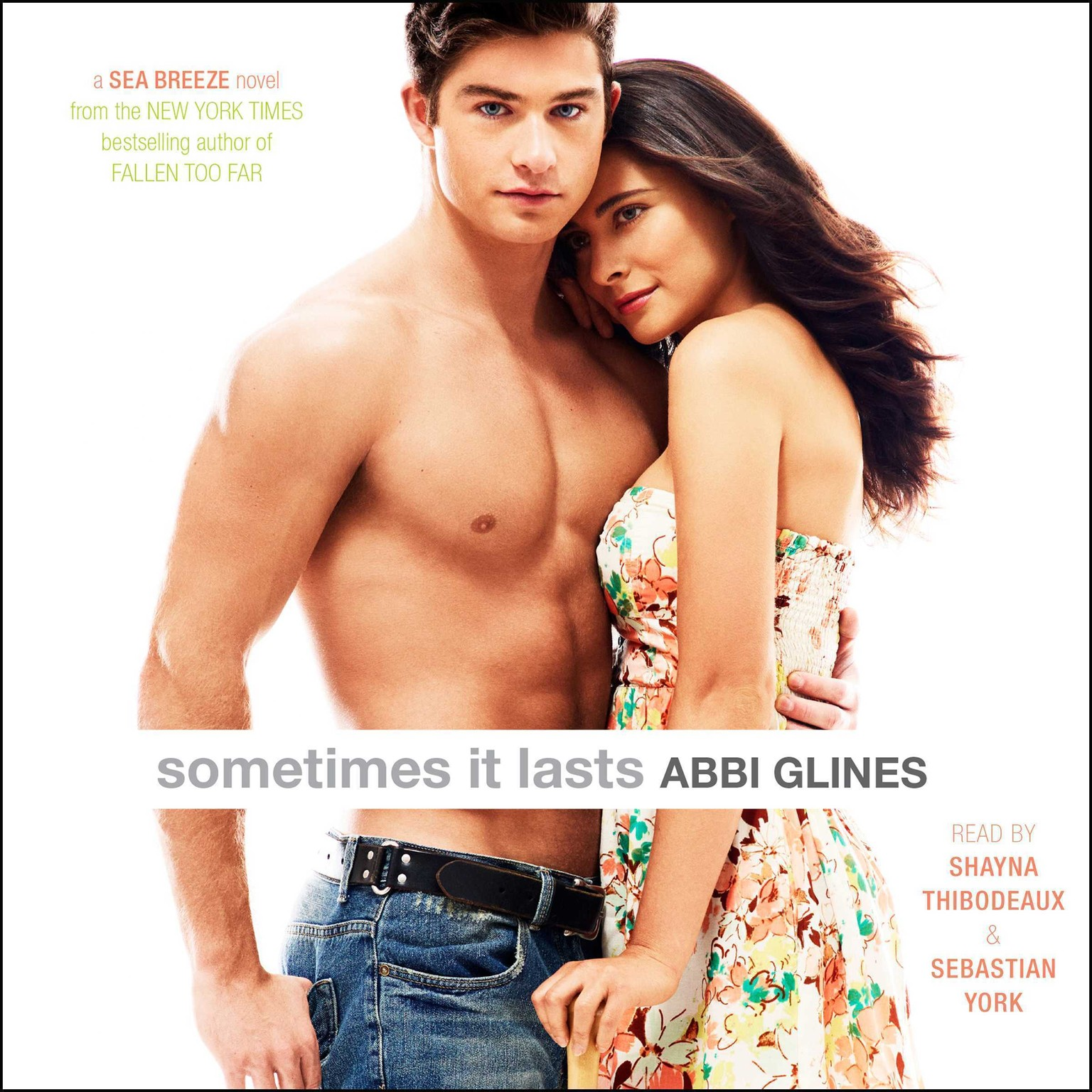 Printable Sometimes It Lasts Audiobook Cover Art