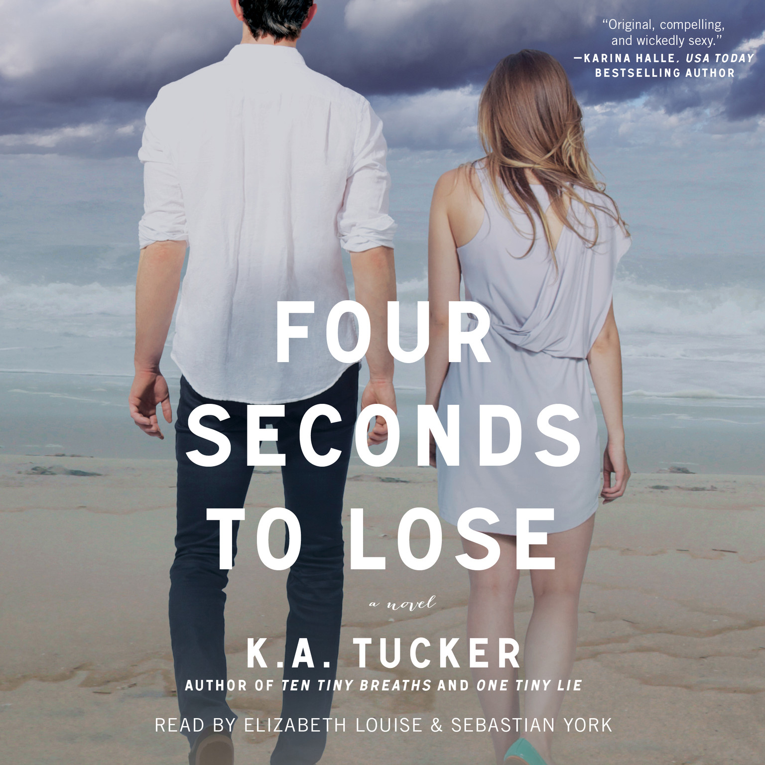 Printable Four Seconds to Lose: A Novel Audiobook Cover Art