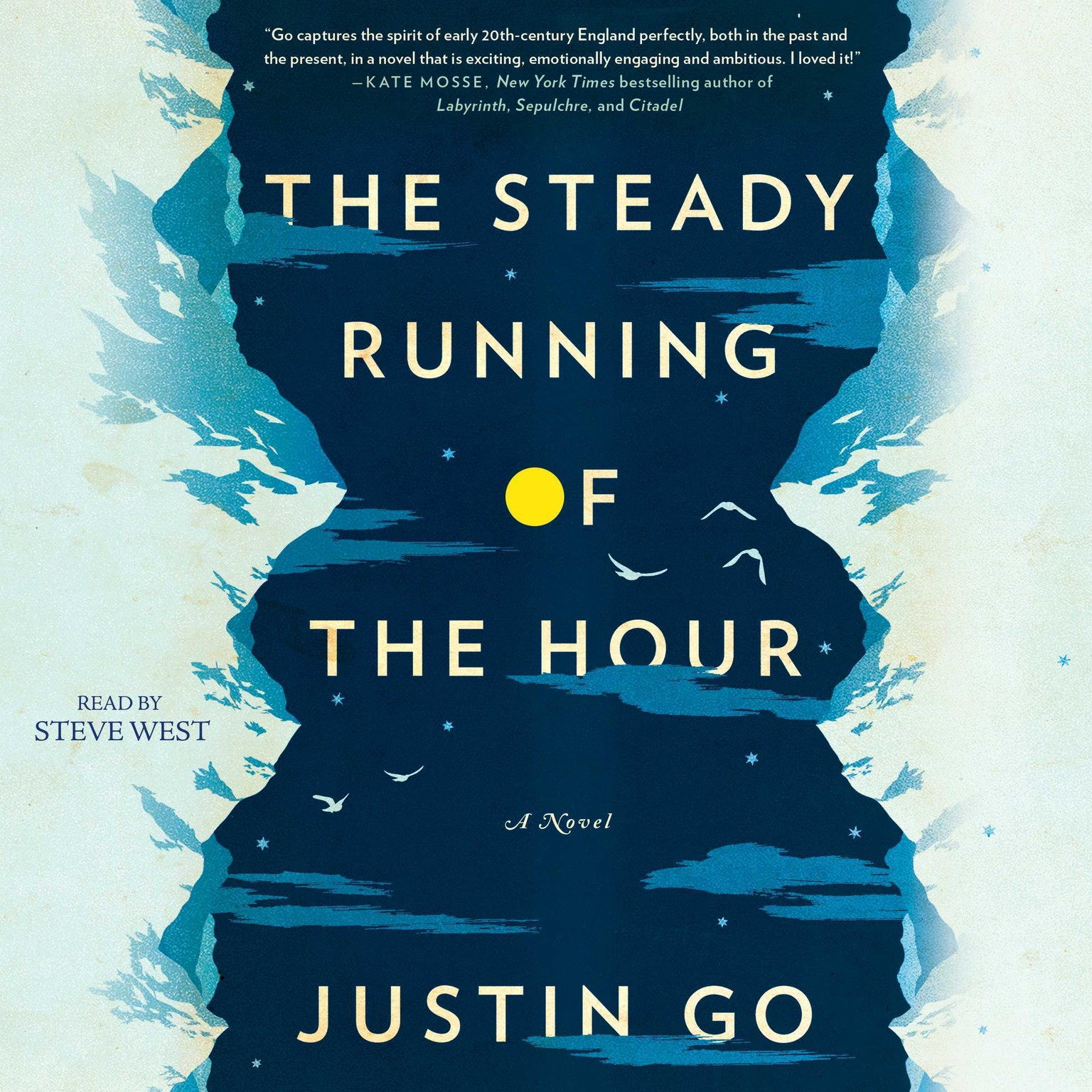 Printable The Steady Running of the Hour: A Novel Audiobook Cover Art