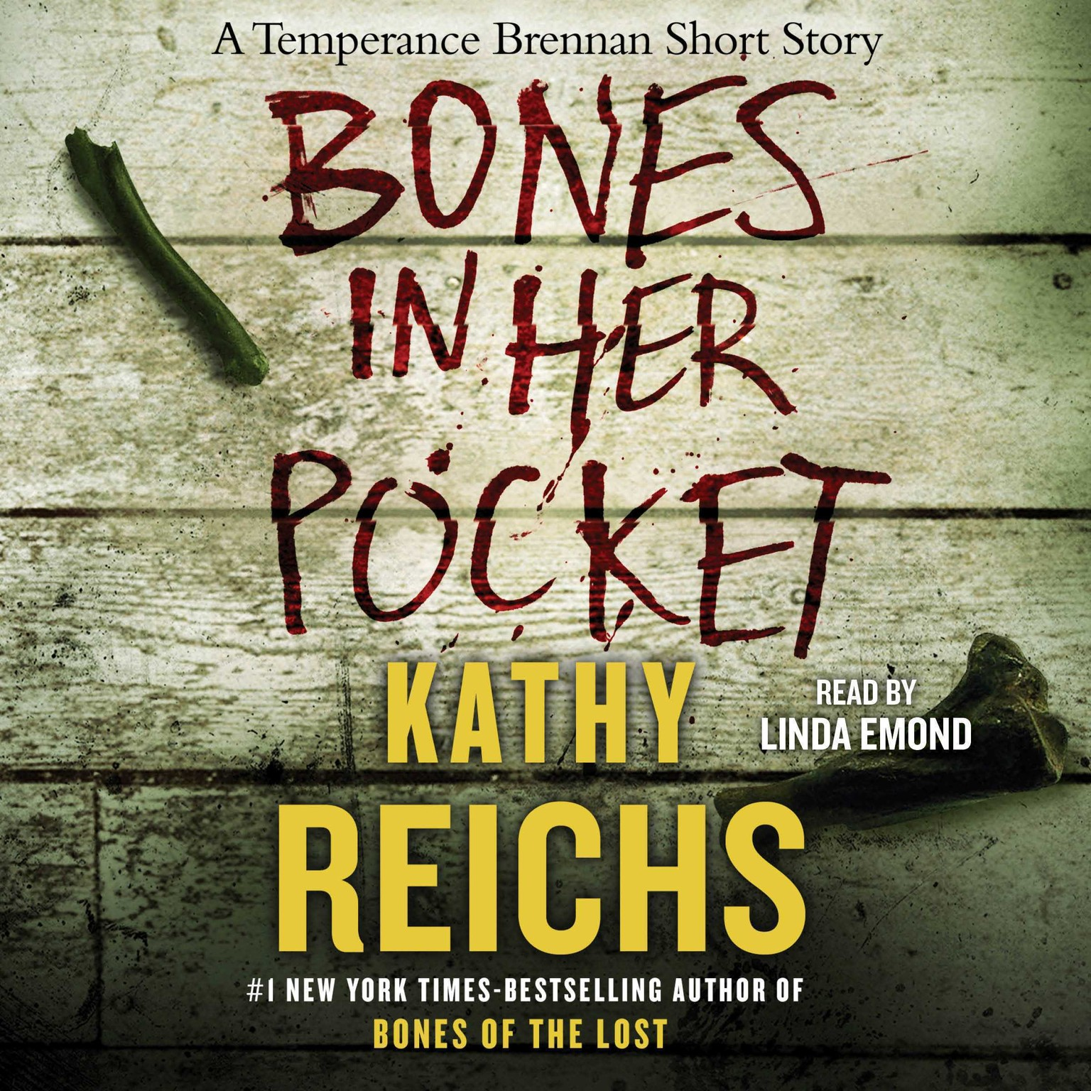 Printable Bones in Her Pocket Audiobook Cover Art